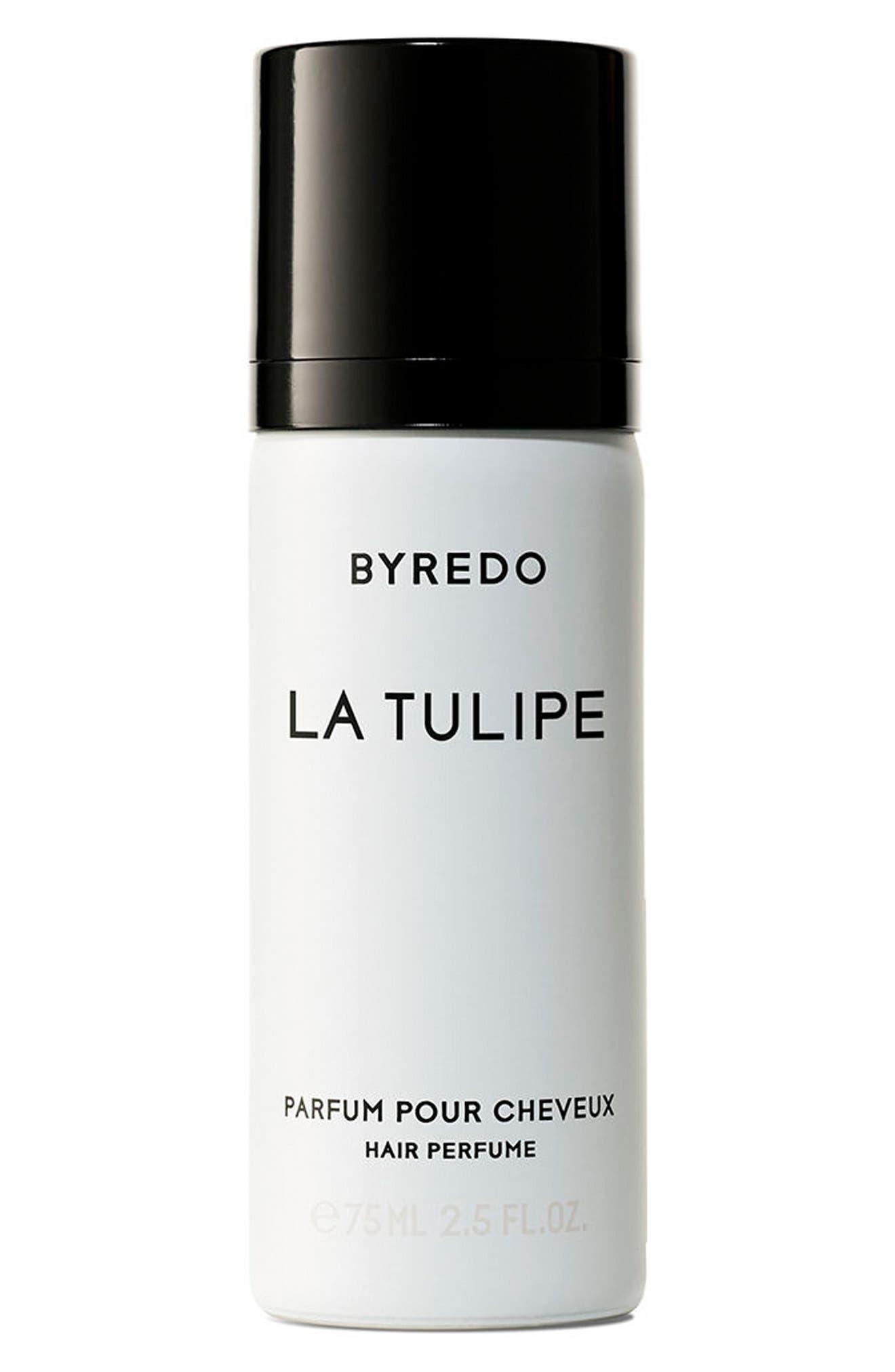 BYREDO,                             La Tulipe Hair Perfume,                             Main thumbnail 1, color,                             NO COLOR