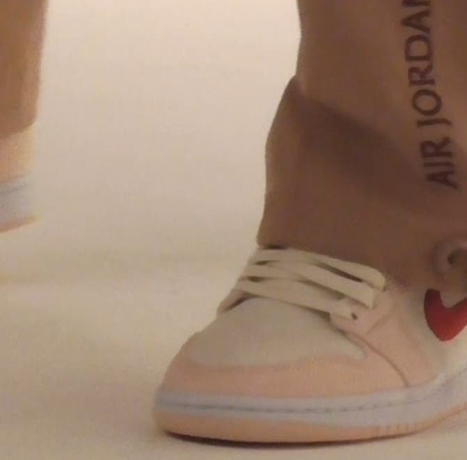 Video of models wearing Nordstrom x Nike products.