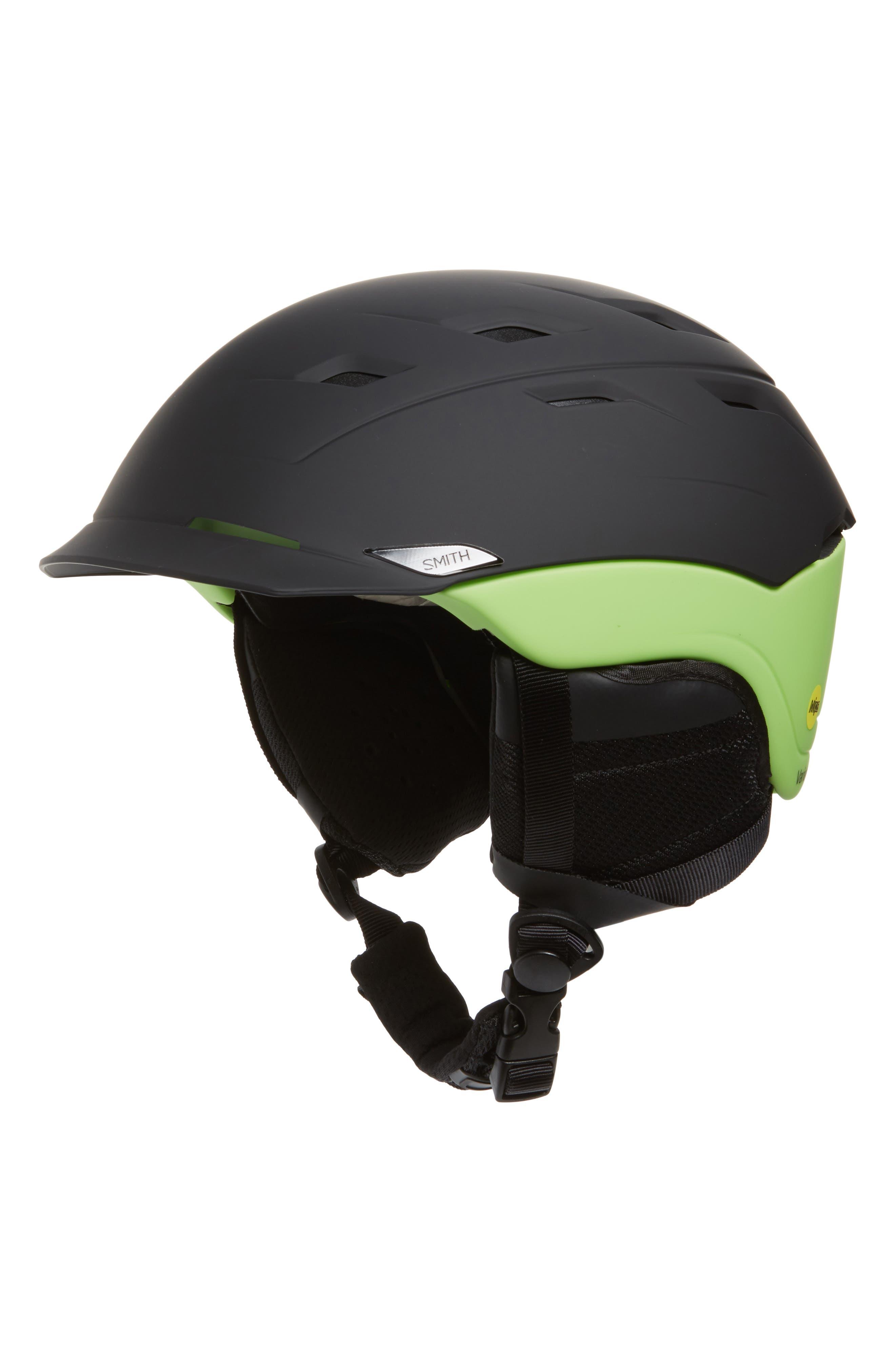 Variance MIPS Snow Helmet,                             Main thumbnail 1, color,                             MATTE BLACK / FLASH