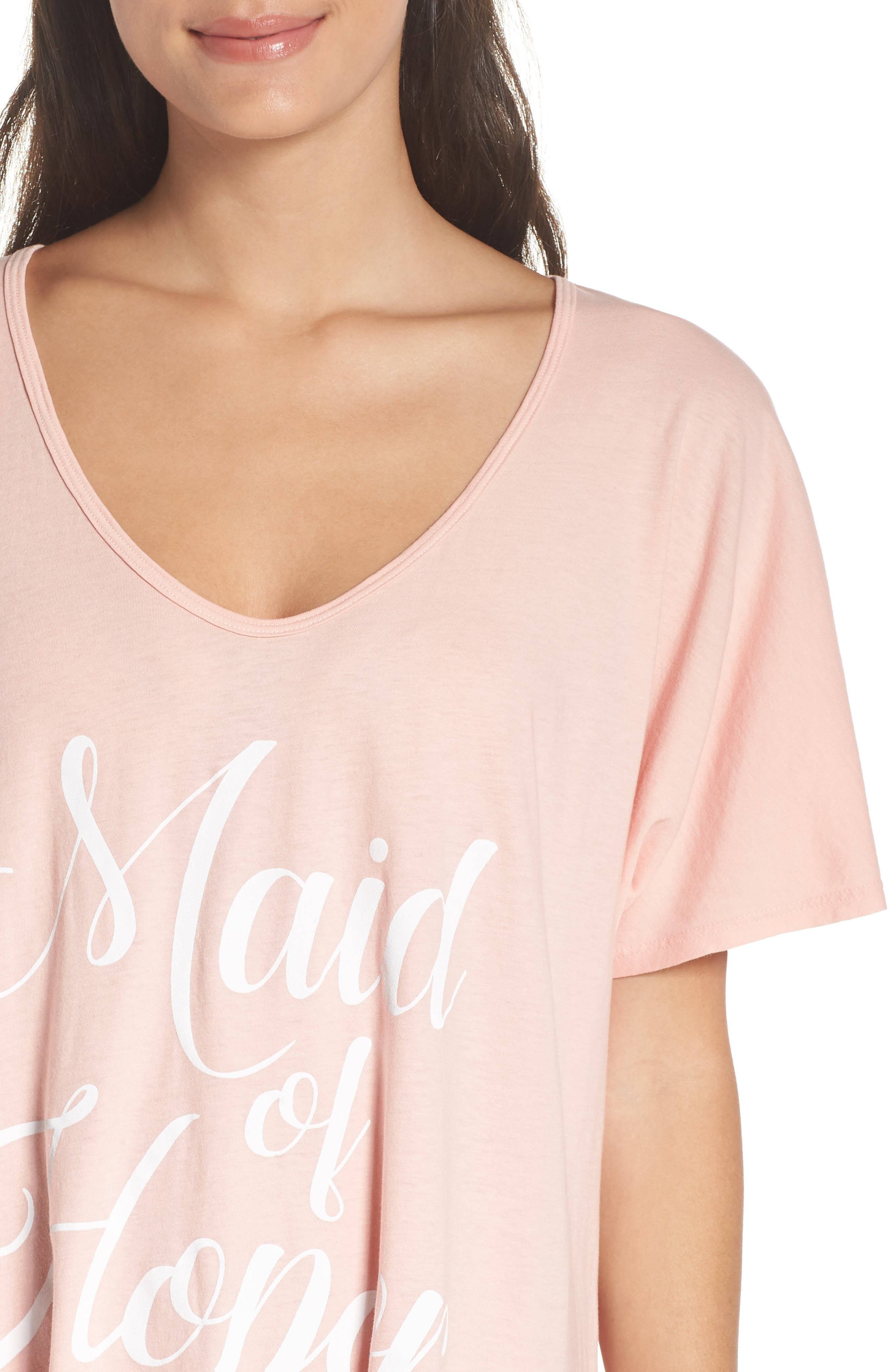 Maid of Honor Tunic,                             Alternate thumbnail 4, color,                             PINK