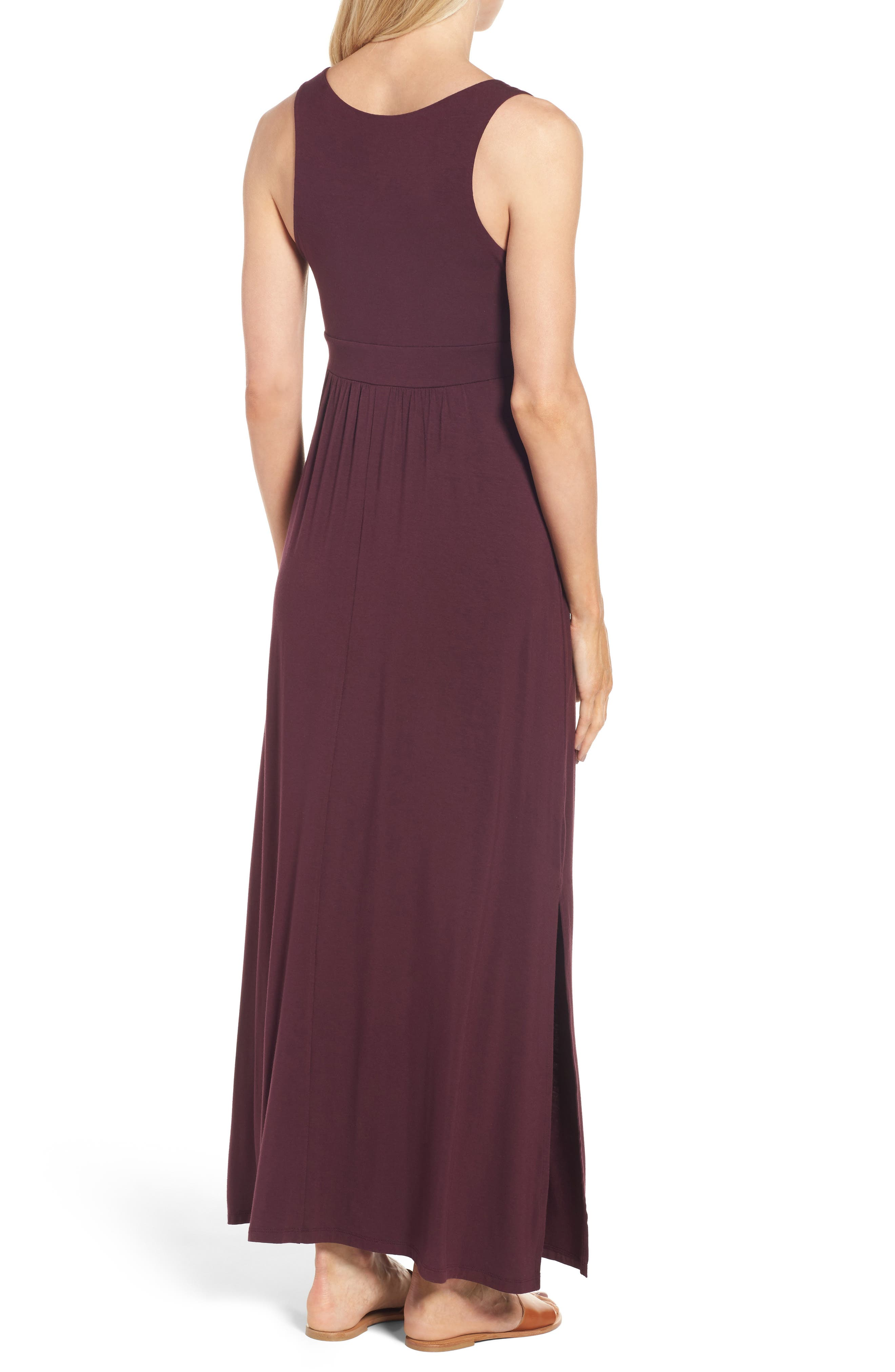 Knit Maxi Dress,                             Alternate thumbnail 14, color,