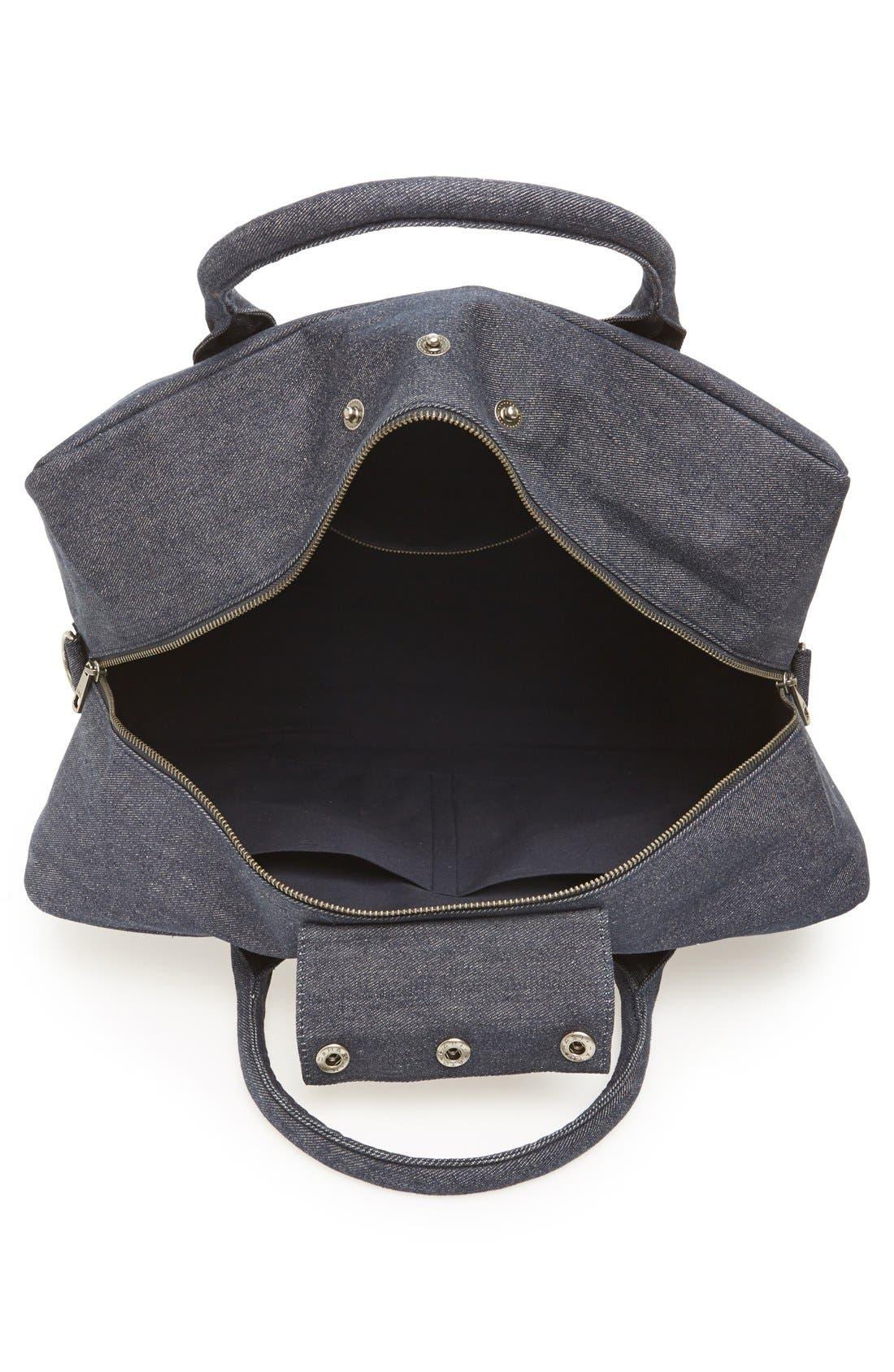Denim Duffle Bag,                             Alternate thumbnail 2, color,                             461