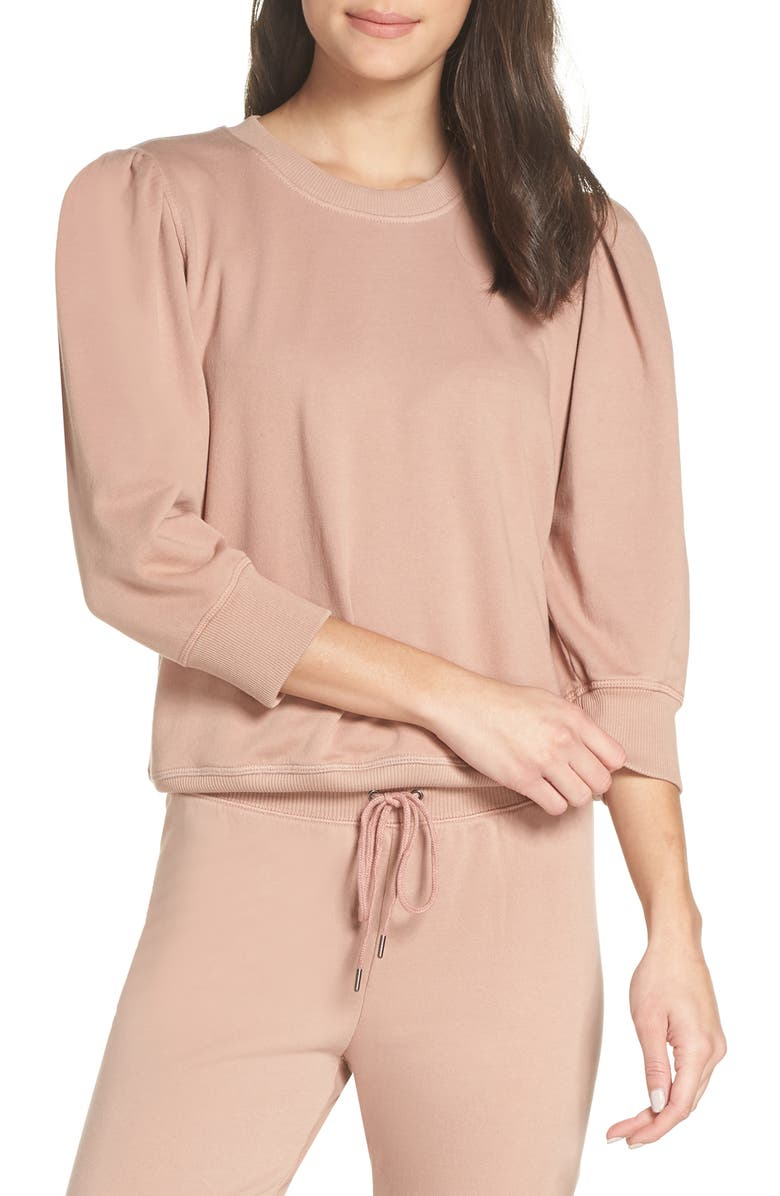 David Lerner LEG OF MUTTON SLEEVE PULLOVER