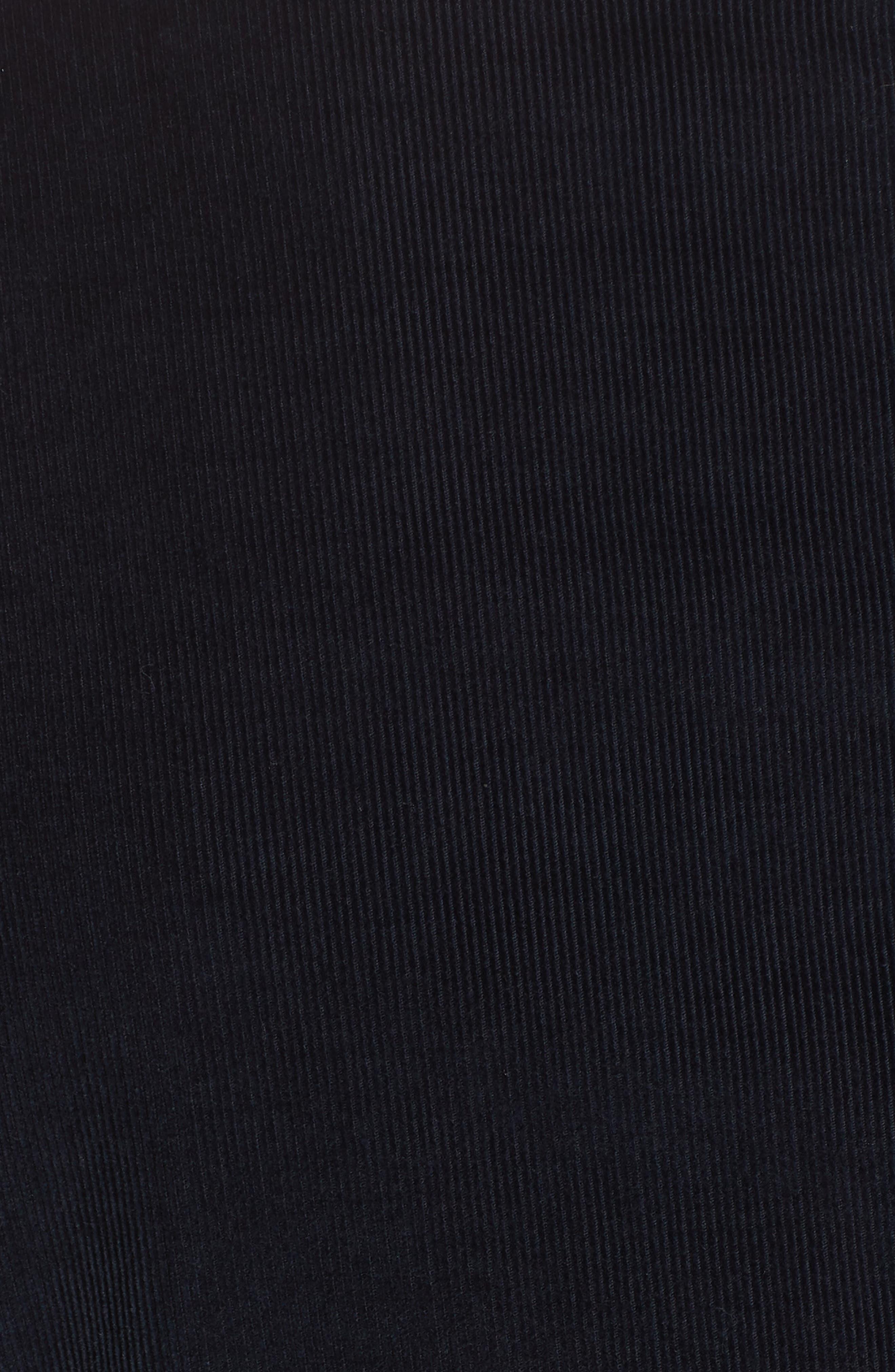 Trim Fit Stretch Corduroy Cotton Blazer,                             Alternate thumbnail 6, color,                             NAVY