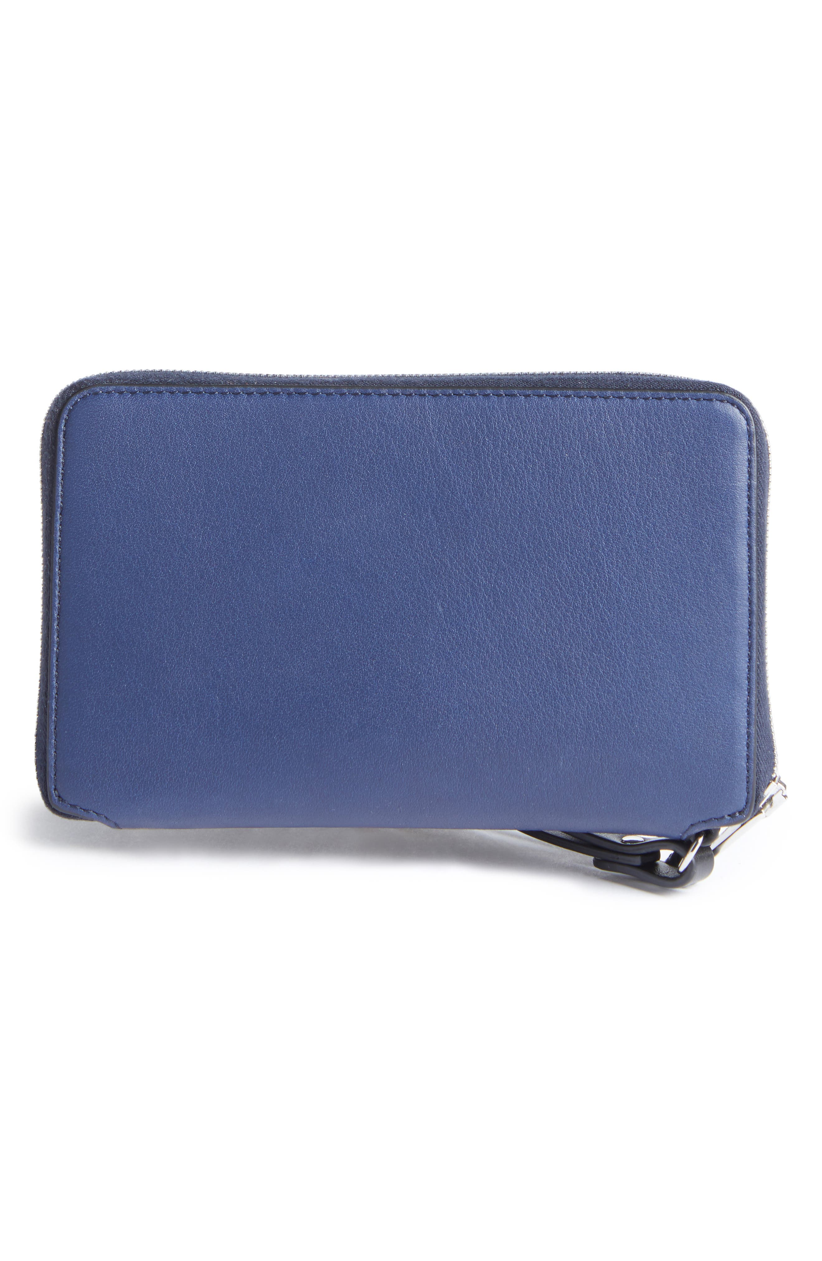 Devon Calfskin Smartphone Wallet,                             Alternate thumbnail 3, color,                             410