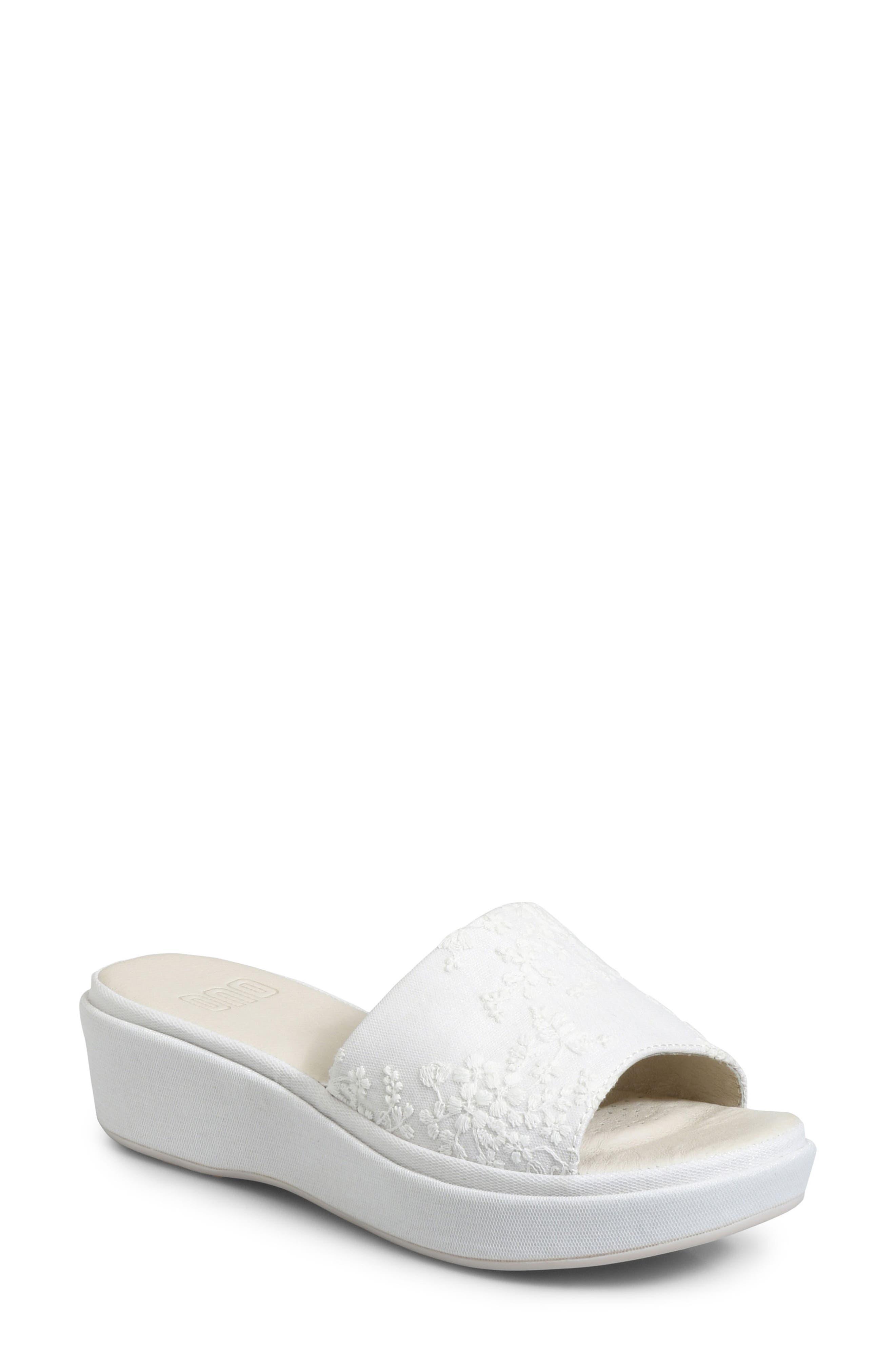 Ono Dive Platform Sandal, White