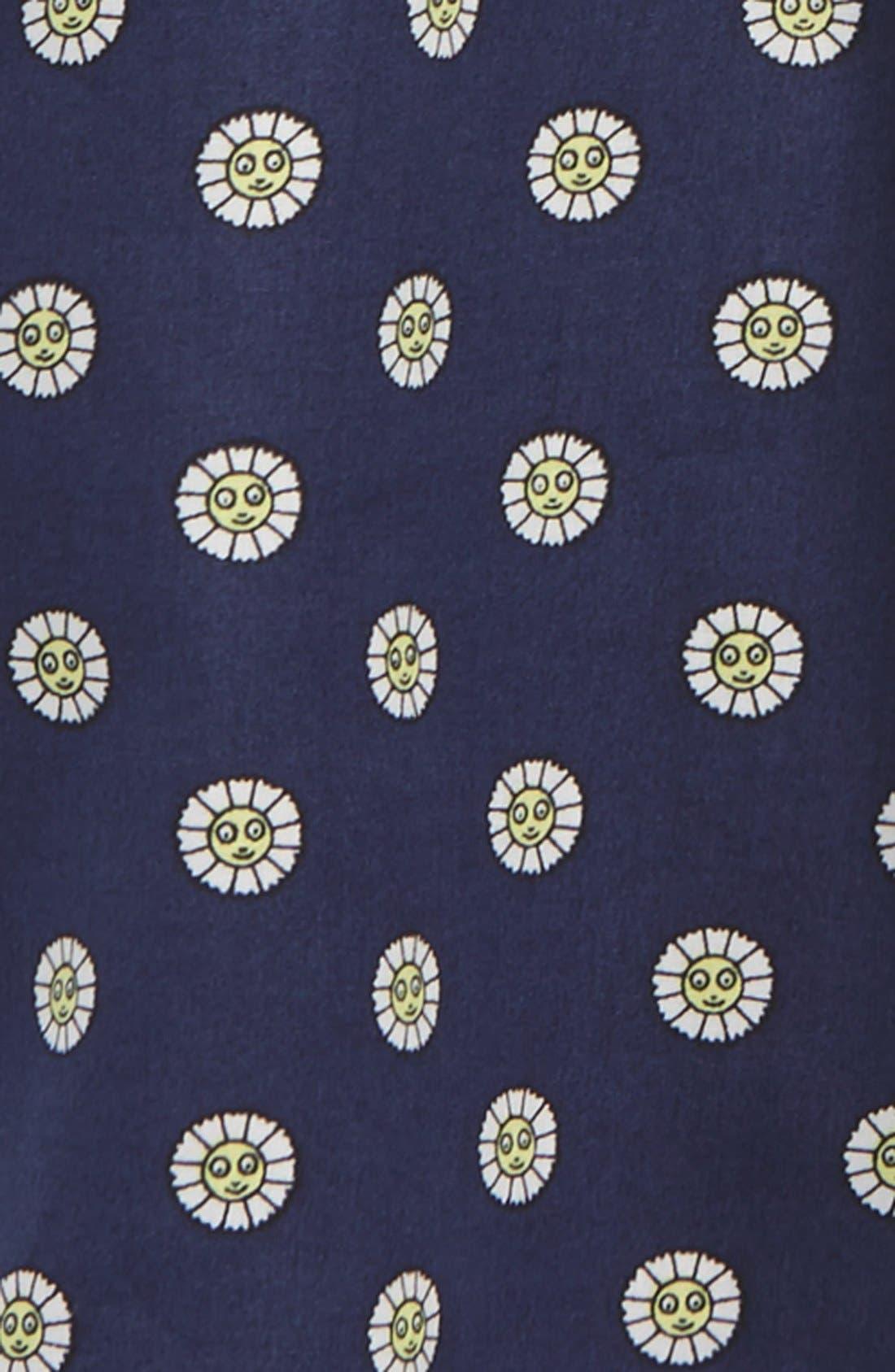 Logo Print A-Line Dress,                             Alternate thumbnail 2, color,                             400