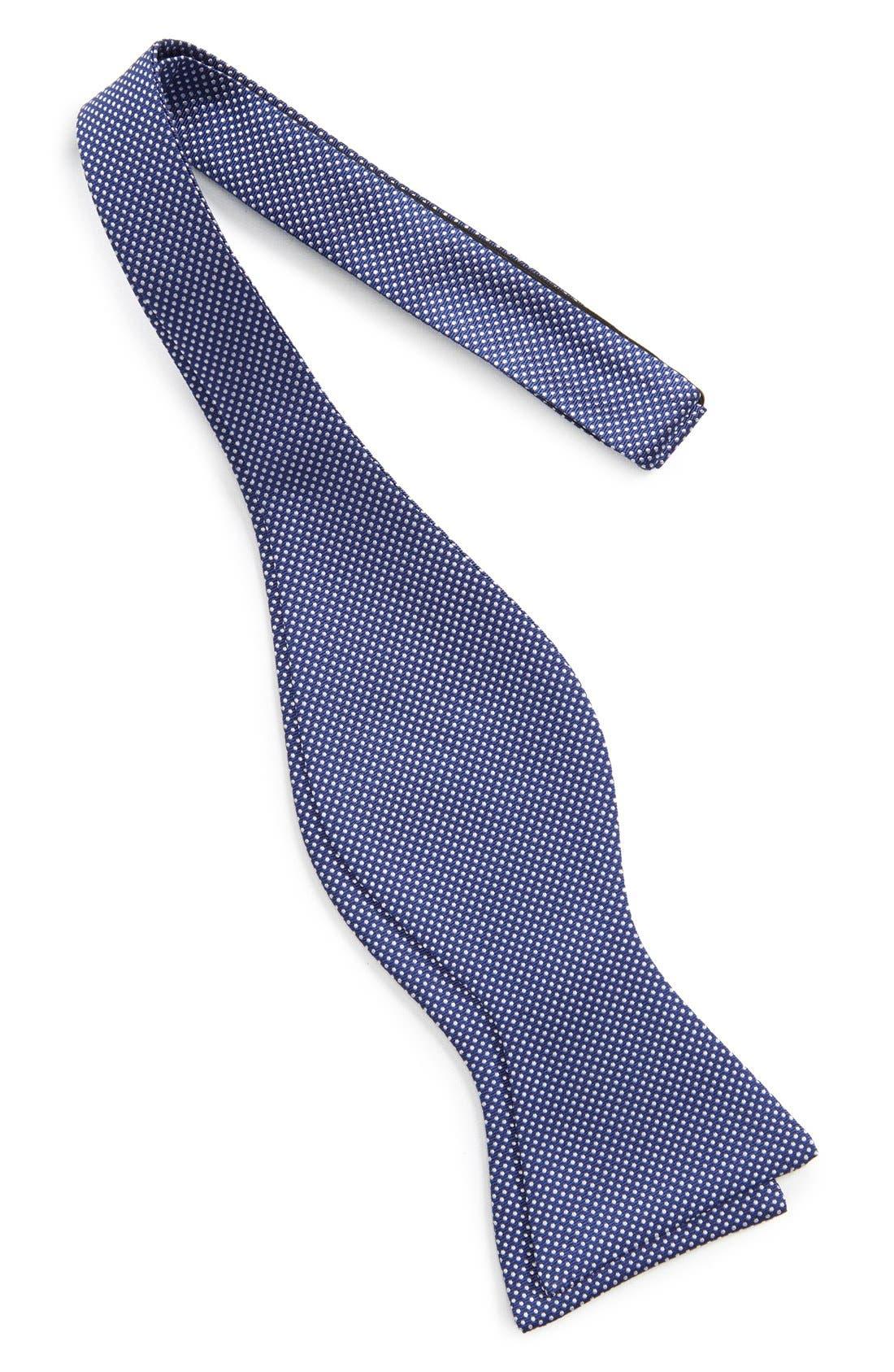 Dot Silk Bow Tie,                             Alternate thumbnail 14, color,