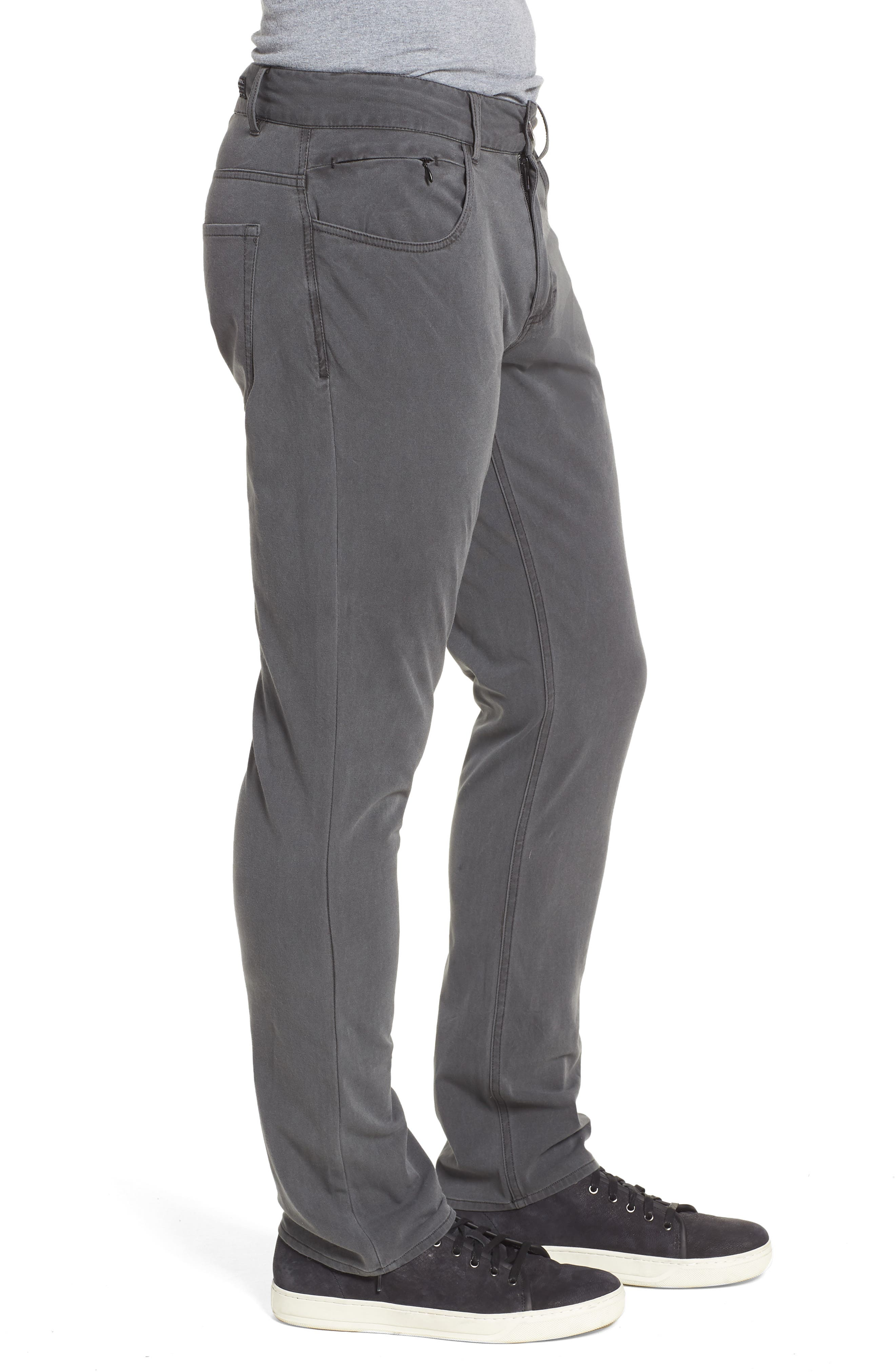 Venture Slim Fit Hybrid Pants,                             Alternate thumbnail 3, color,                             001