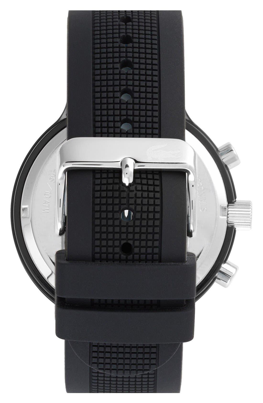 'Boreno' Silicone Strap Watch, 44mm,                             Alternate thumbnail 7, color,