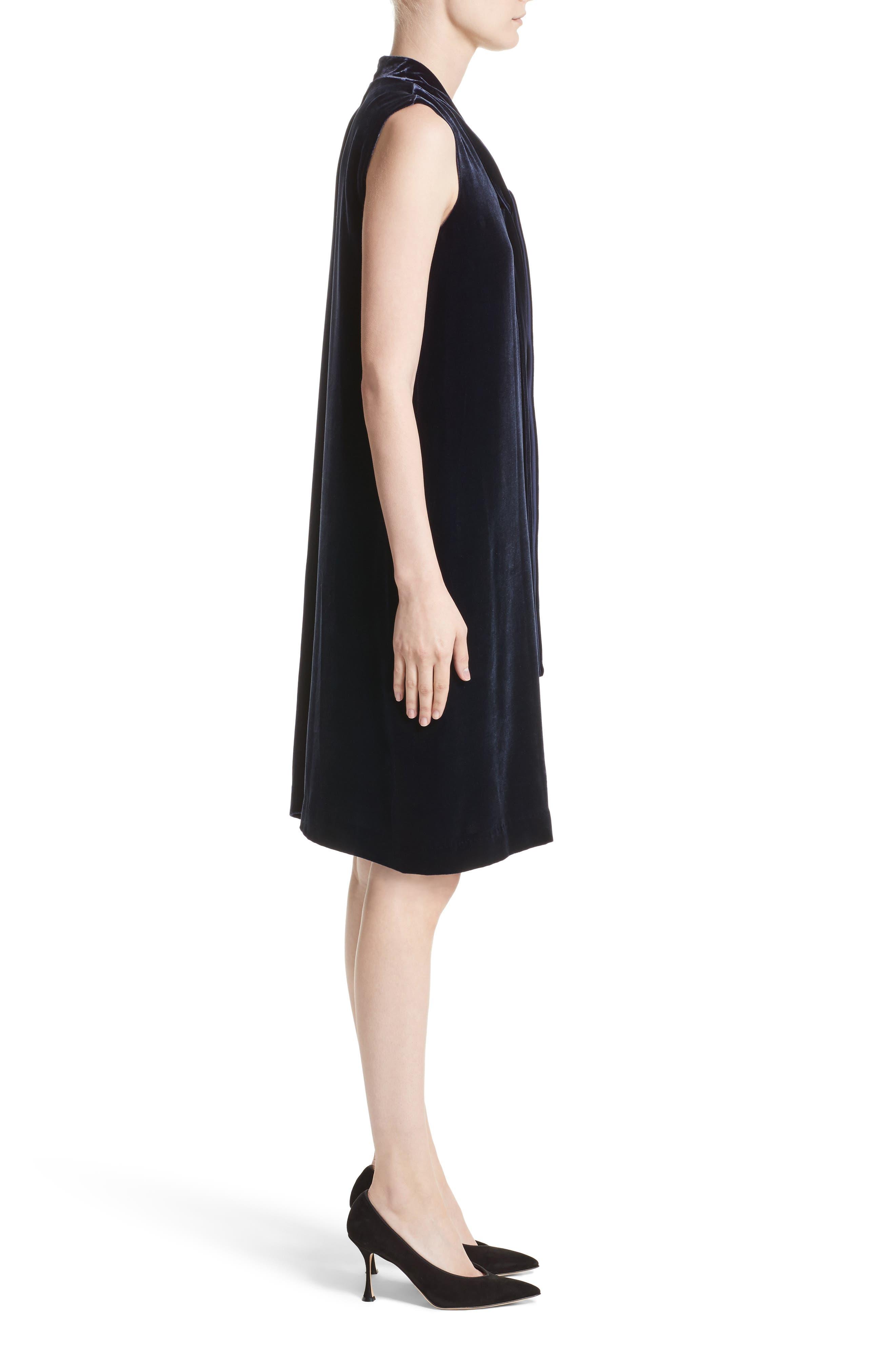 Ronan Velvet Dress,                             Alternate thumbnail 6, color,