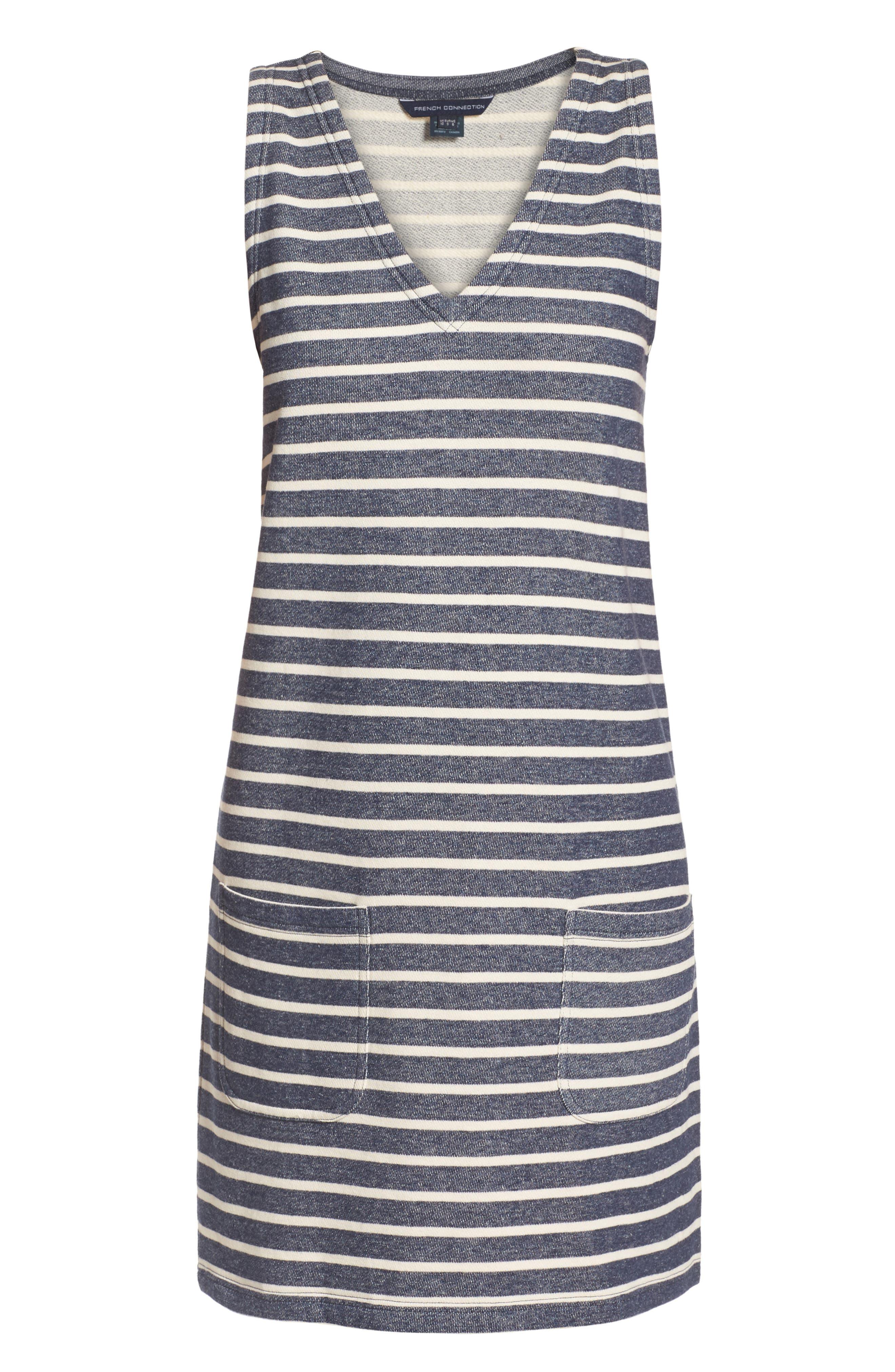 Normandy Stripe Dress,                             Alternate thumbnail 11, color,