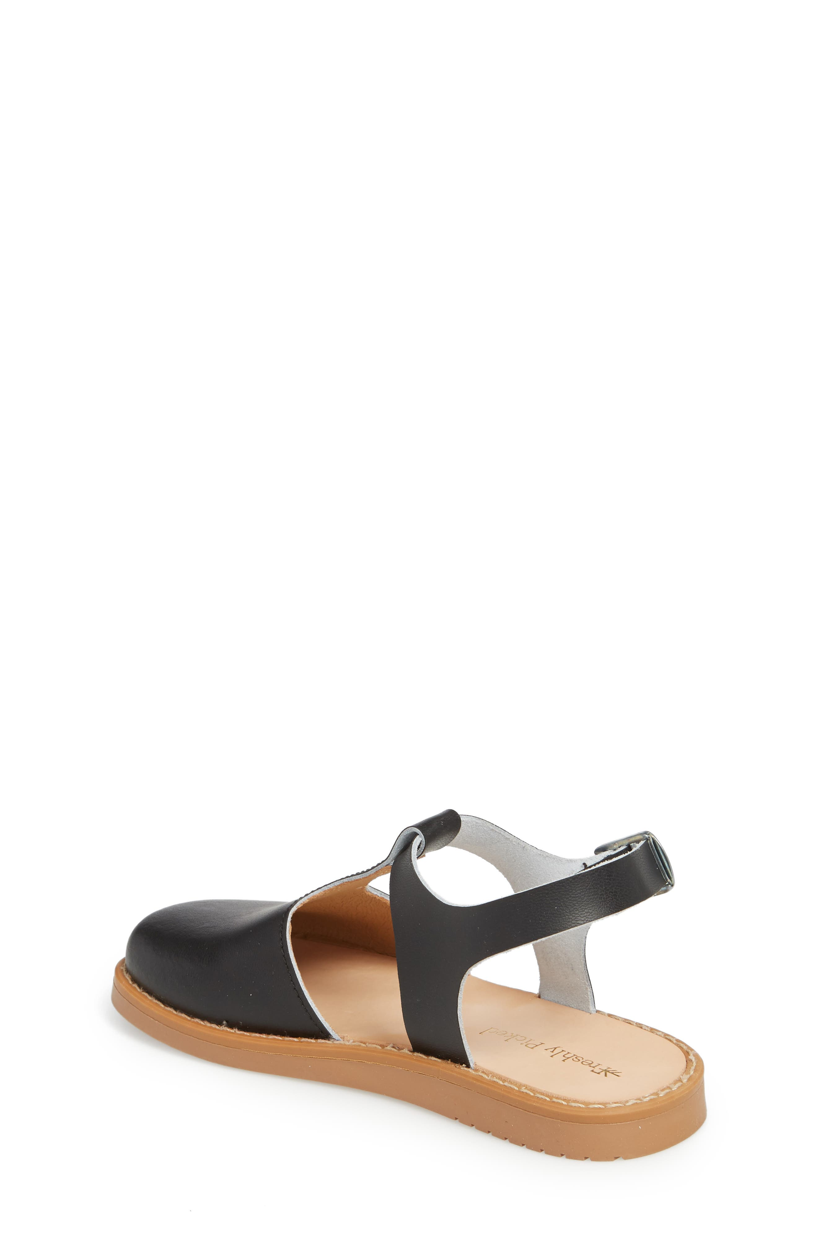 Newport Clog Sandal,                             Alternate thumbnail 2, color,                             BLACK