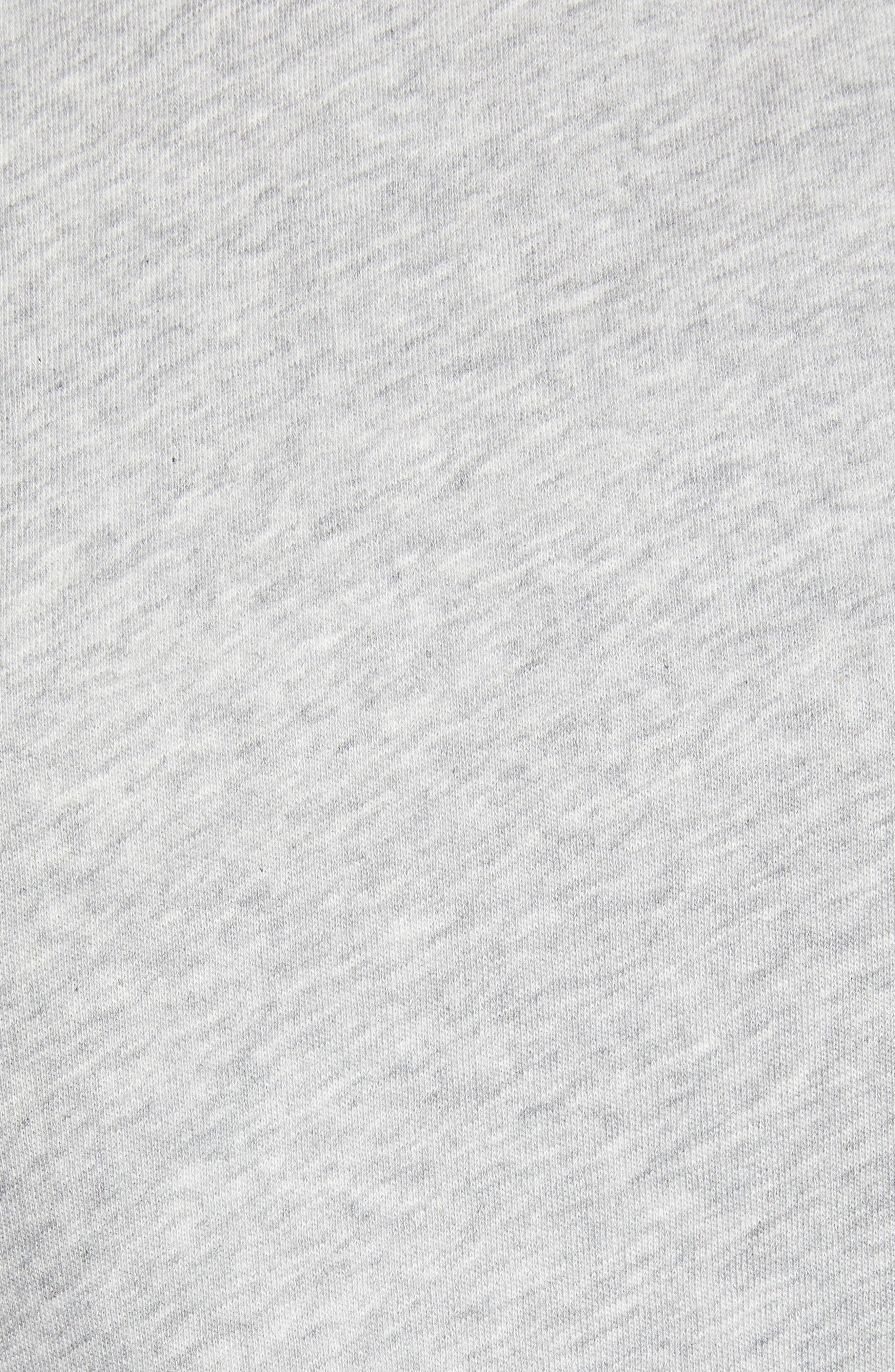 Stripe Raglan Sleeve Sweatshirt,                             Alternate thumbnail 5, color,                             030