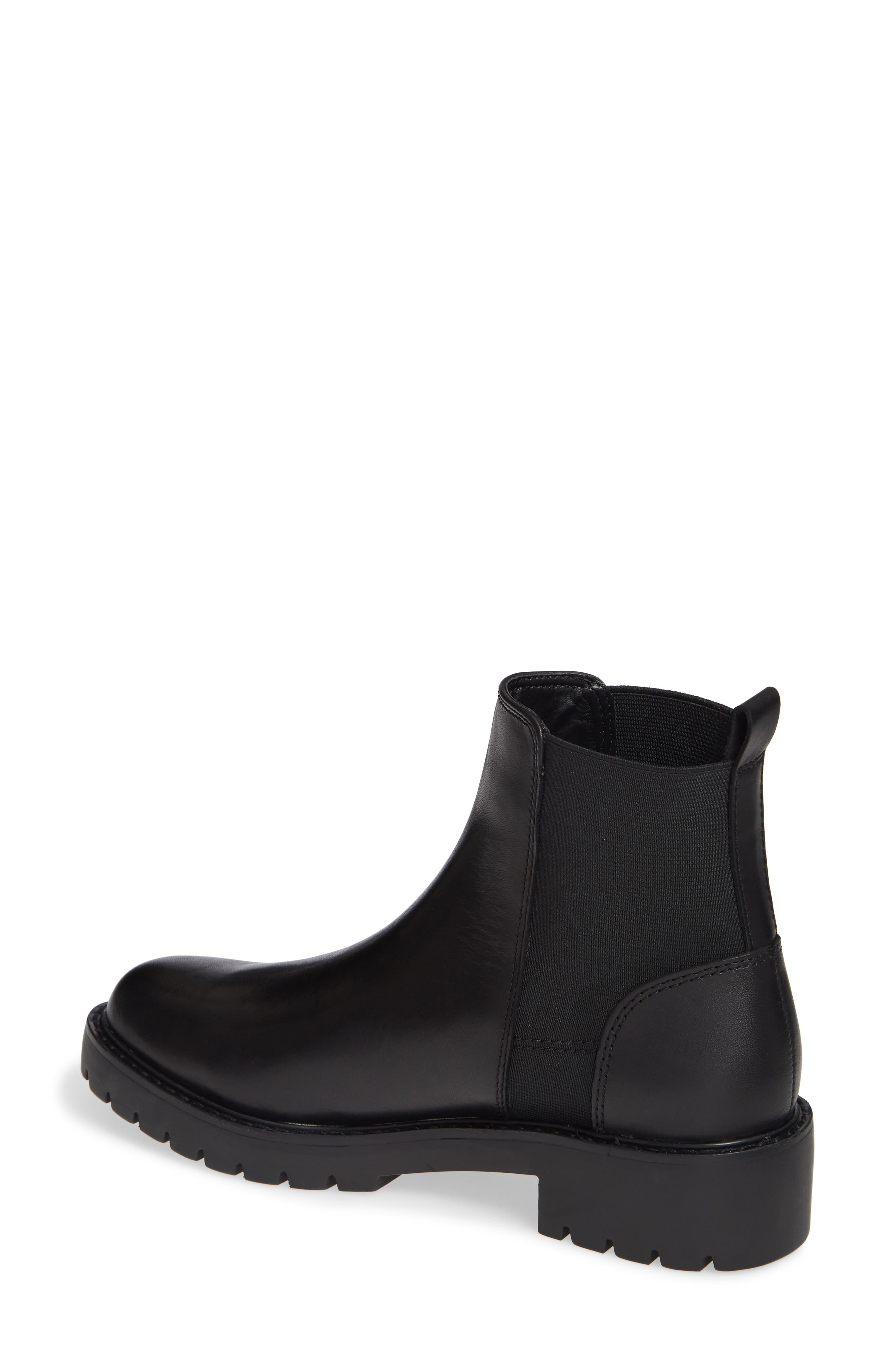 Gliding Boot,                             Alternate thumbnail 2, color,                             BLACK LEATHER