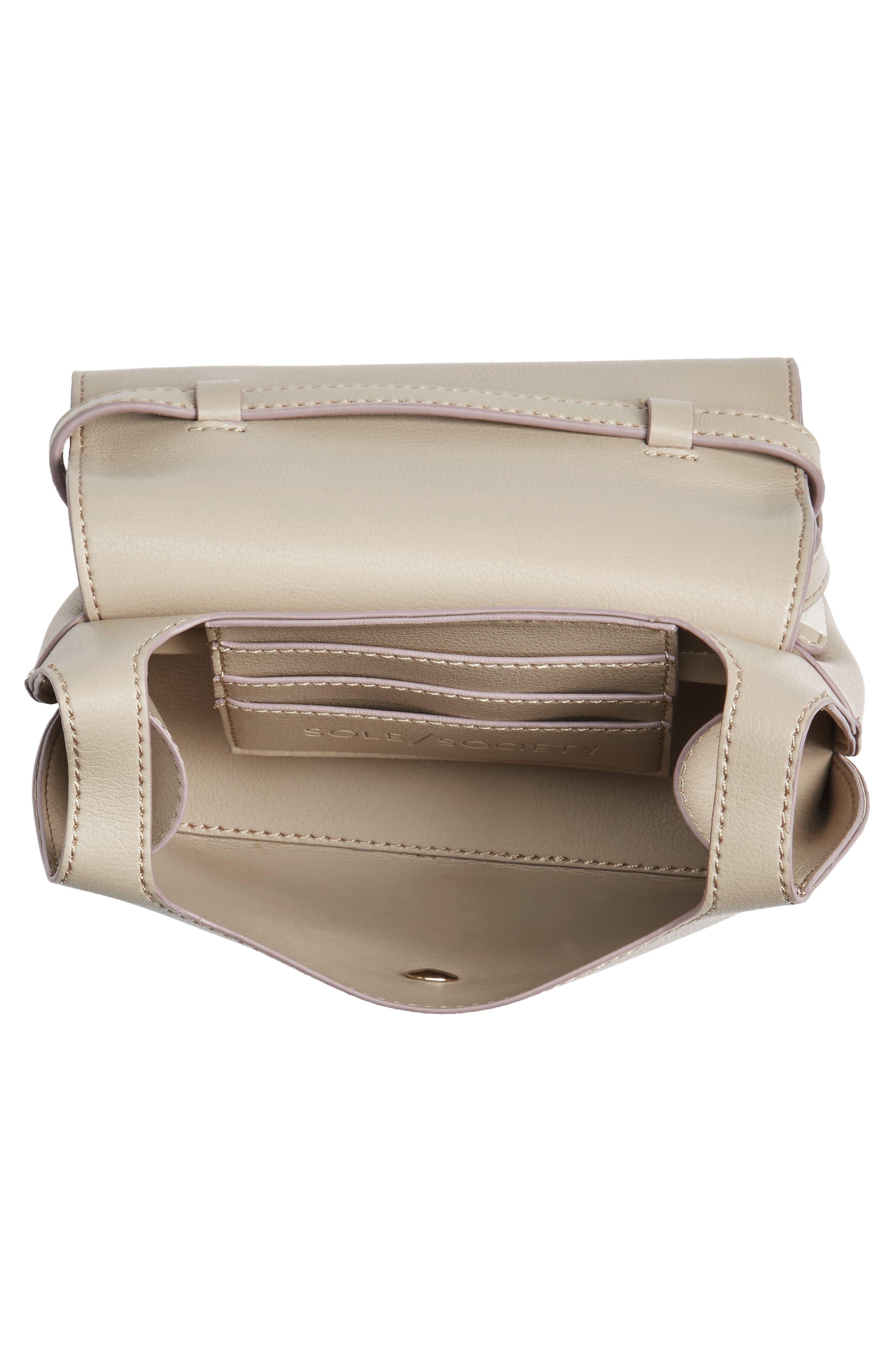 Mini Chino Crossbody Bag,                             Alternate thumbnail 4, color,                             020