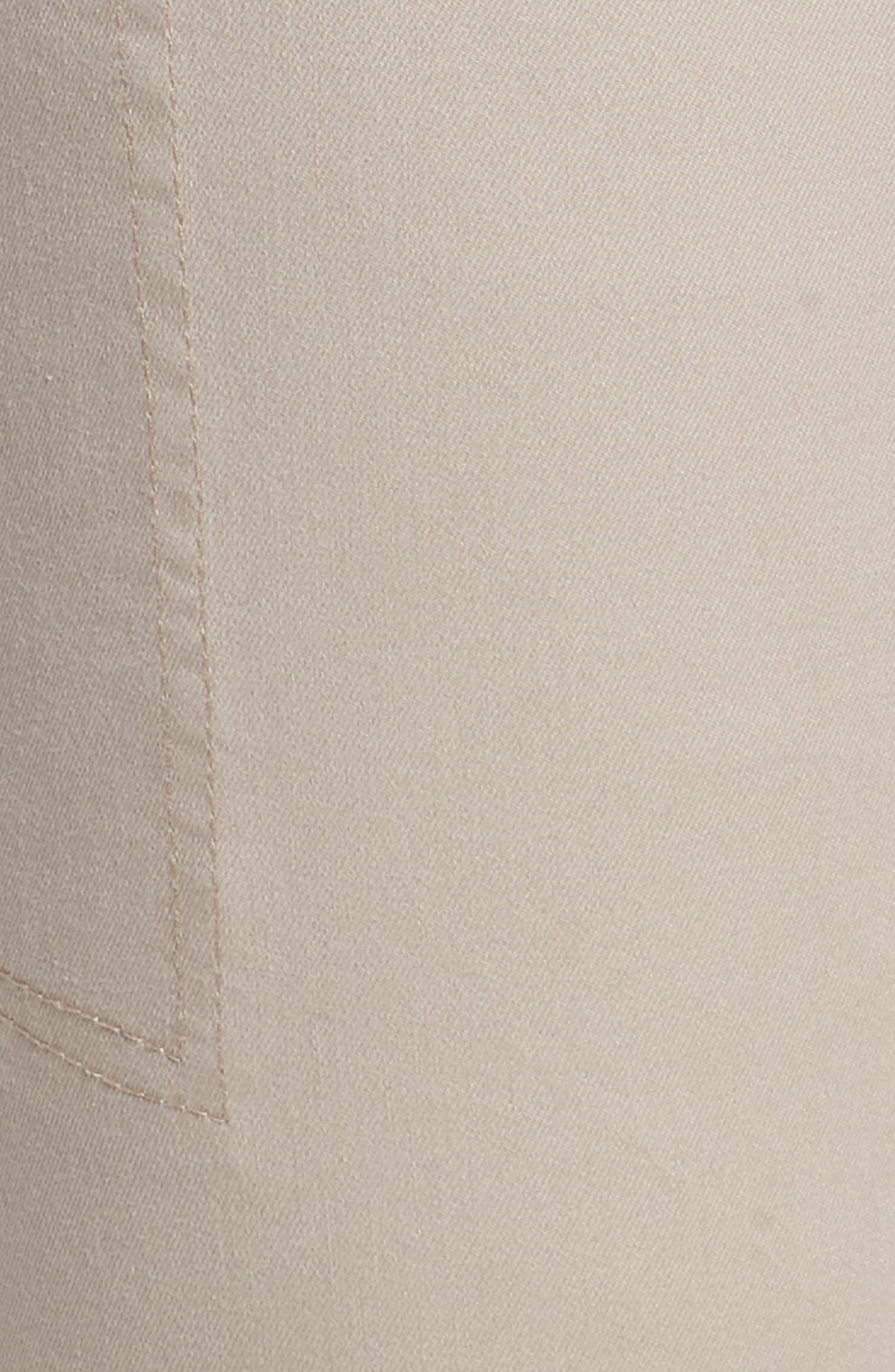 Flex-ellent Stretch Cotton Cargo Pants,                             Alternate thumbnail 6, color,                             FLAX