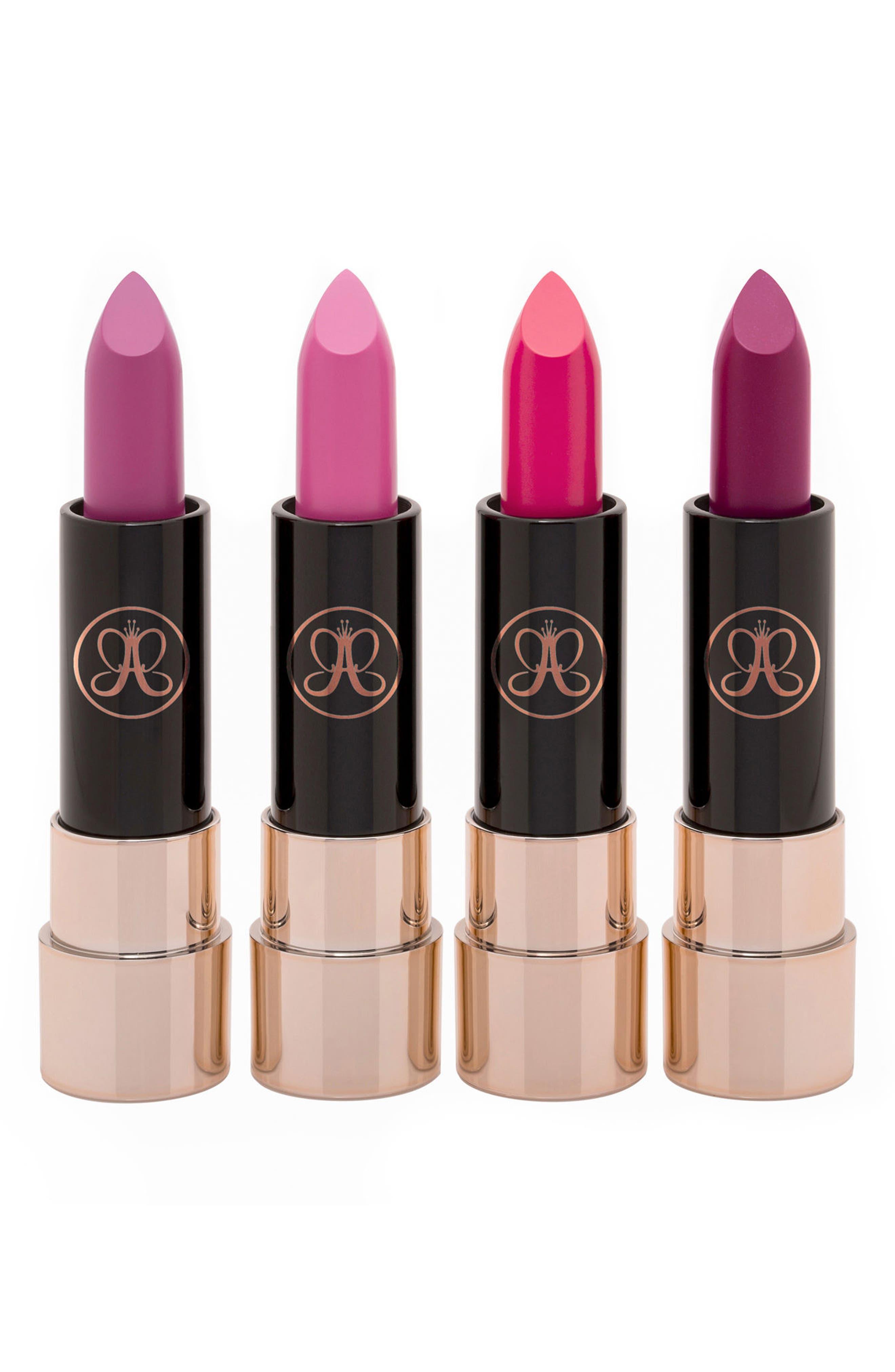 Mini Matte Lipstick Set,                         Main,                         color, PINK