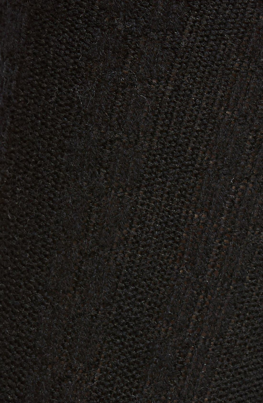 Stretch Cashmere & Wool Socks,                             Alternate thumbnail 2, color,                             001