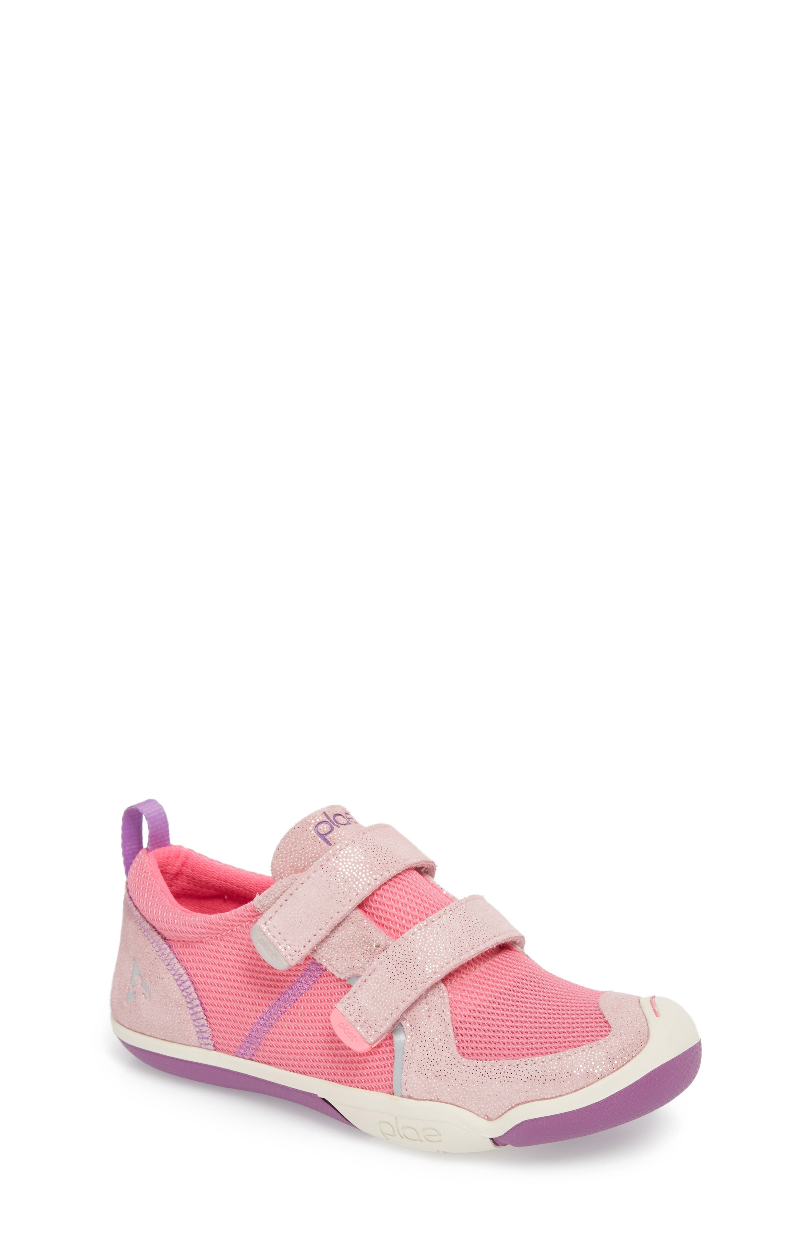 PLAE,                             'Ty' Customizable Sneaker,                             Main thumbnail 1, color,                             PINK/ PINK/ DEWBERRY