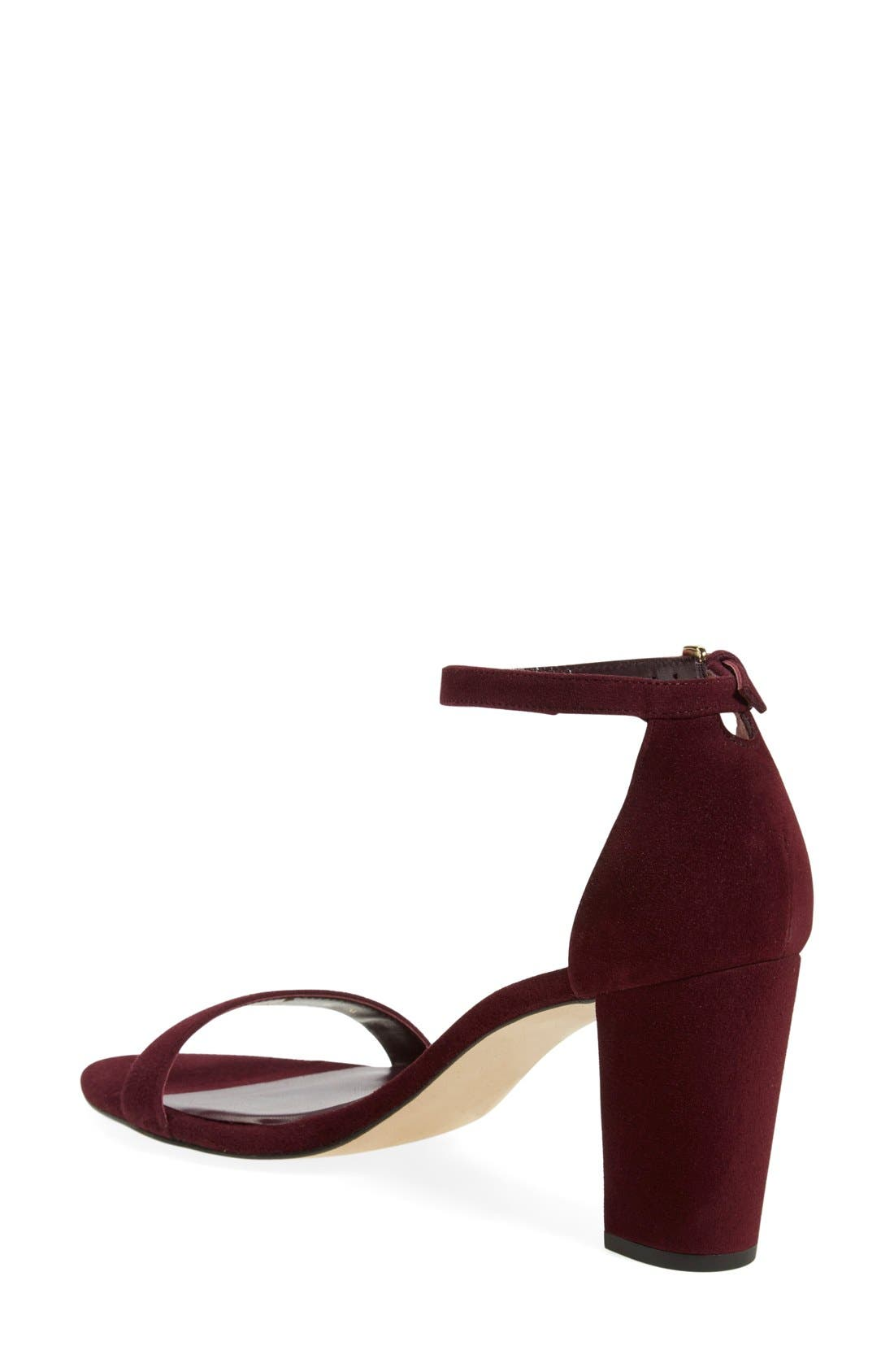 NearlyNude Ankle Strap Sandal,                             Alternate thumbnail 51, color,