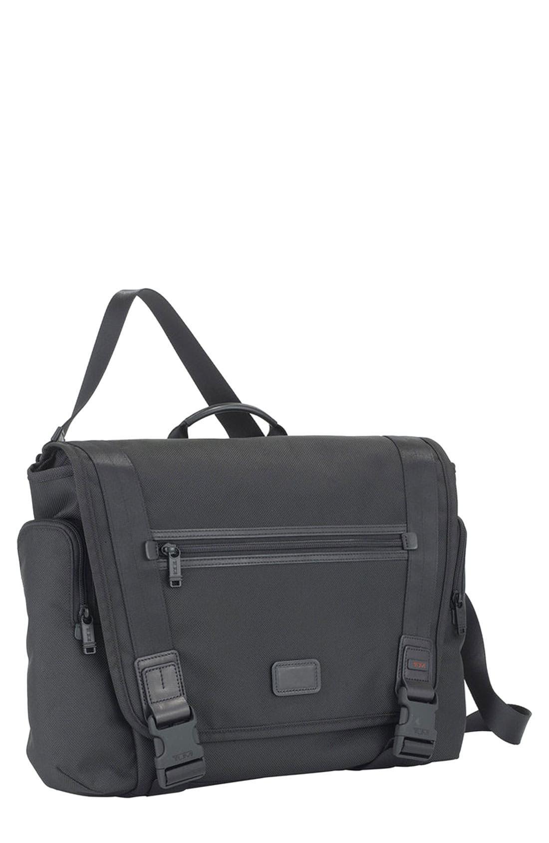 'Alpha Bravo - Benning' Deluxe Messenger Bag,                             Main thumbnail 1, color,                             001