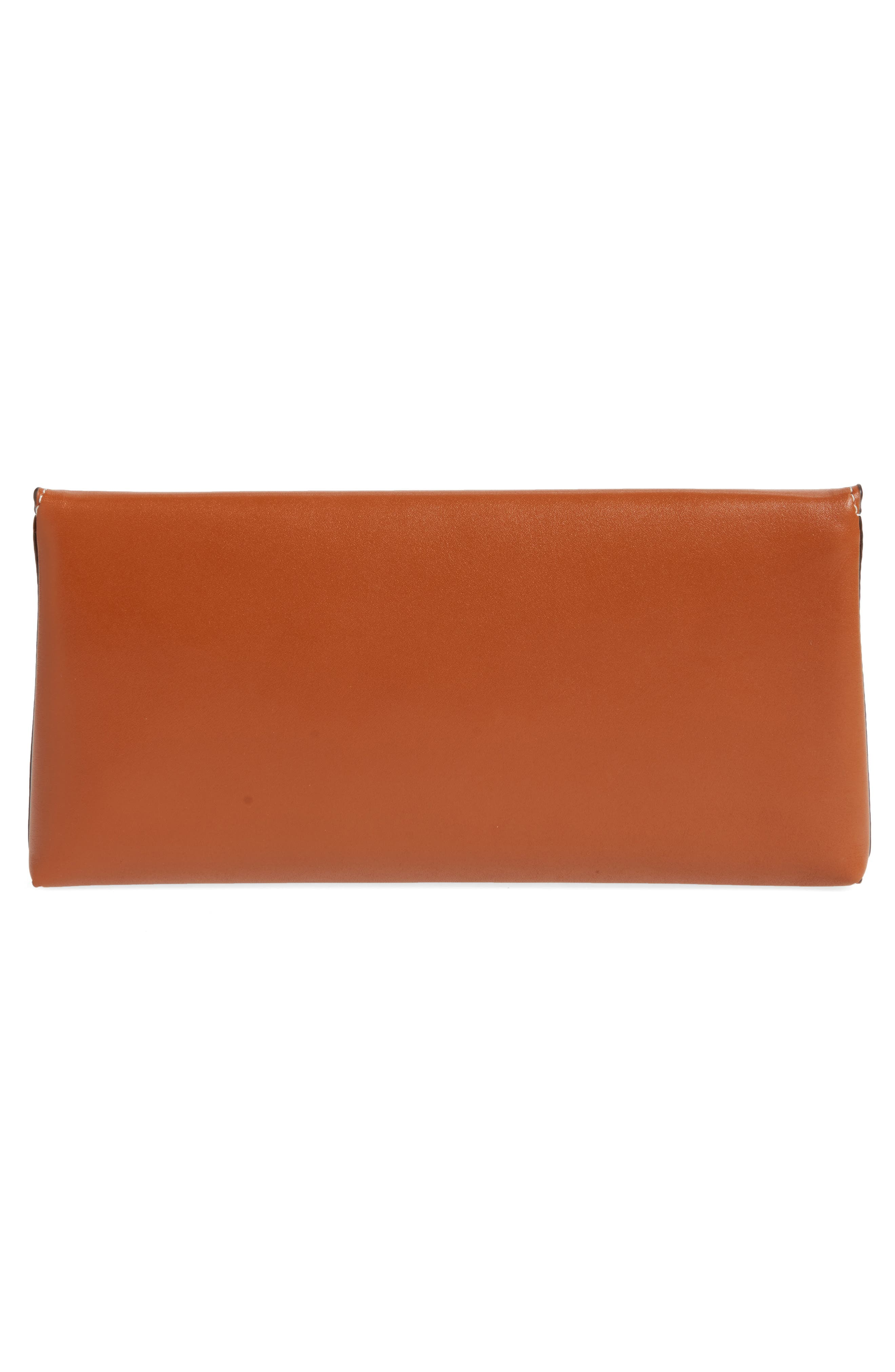 Miller Leather Clutch,                             Alternate thumbnail 8, color,