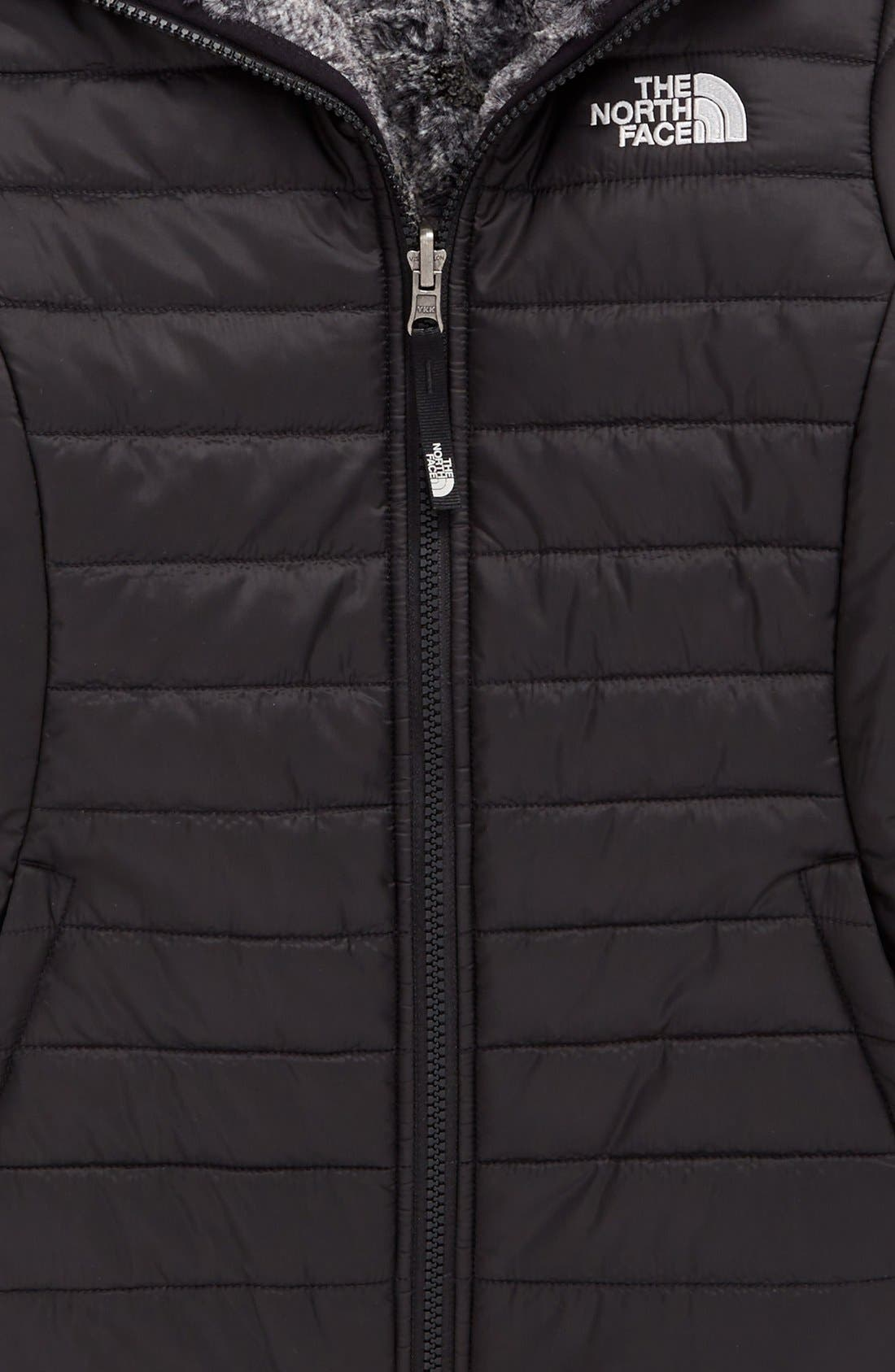 'Mossbud Swirl' Reversible Water Resistant Jacket,                             Alternate thumbnail 2, color,                             001
