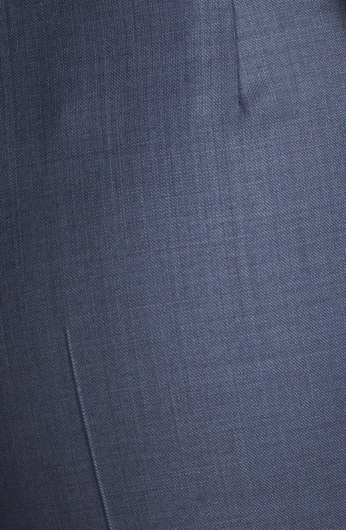 'Temuna' Wool Blend Suiting Trousers,                             Alternate thumbnail 6, color,                             463