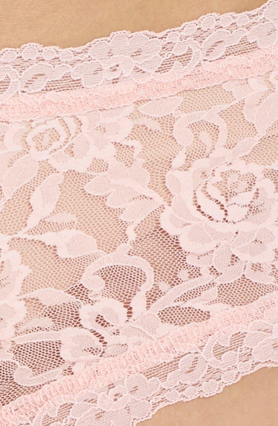 'Signature Lace' Boyshorts,                             Alternate thumbnail 239, color,