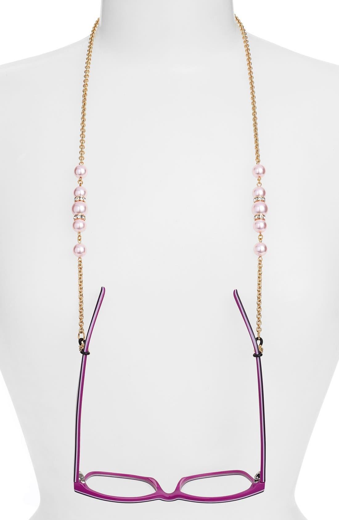'Cadabra' Swarovski Crystal Eyeglass Chain,                             Main thumbnail 3, color,