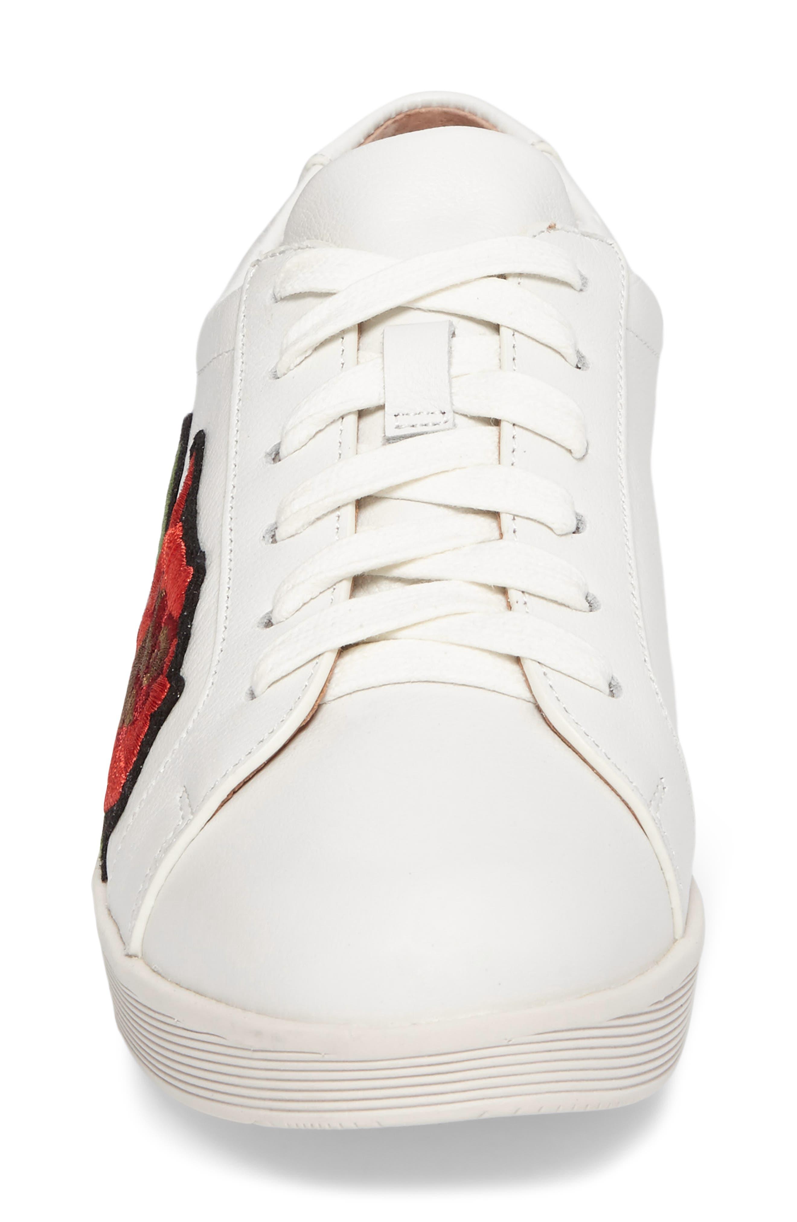 Gentle Soles Haddie Rose Sneaker,                             Alternate thumbnail 4, color,                             110