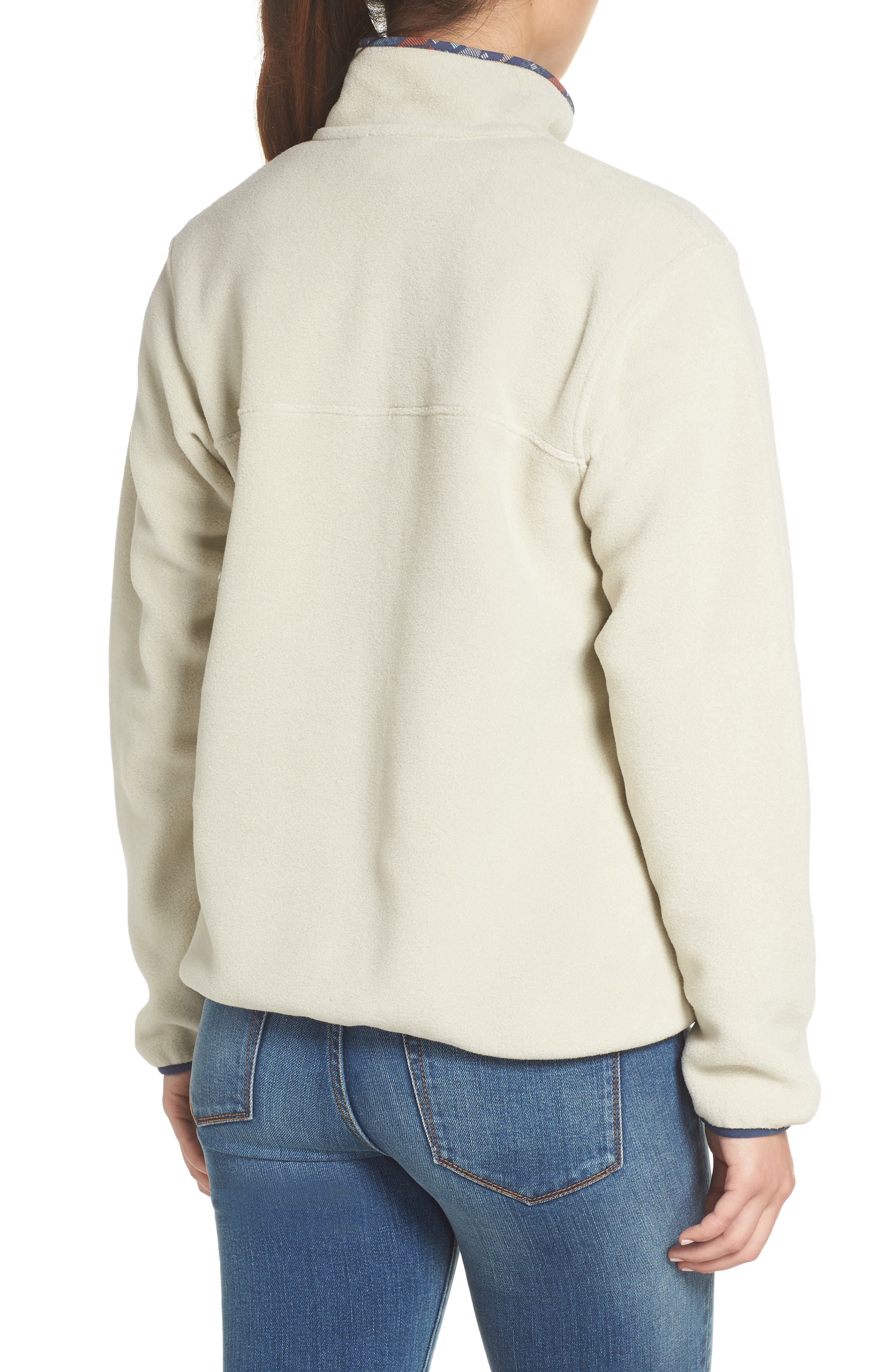 Synchilla Snap-T<sup>®</sup> Fleece Pullover,                             Alternate thumbnail 2, color,                             PELICAN W/ STONE BLUE