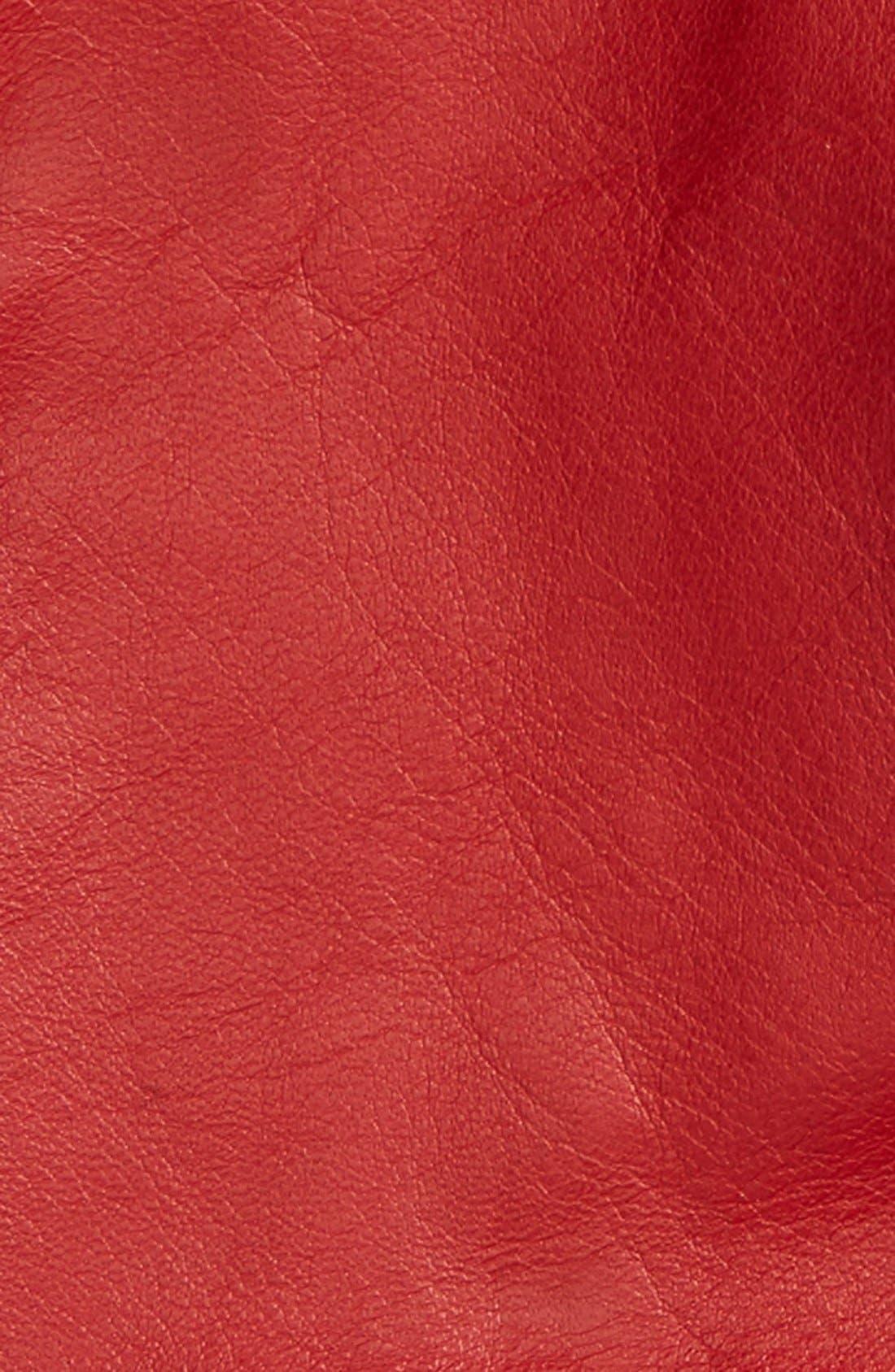 Short Leather Gloves,                             Alternate thumbnail 11, color,