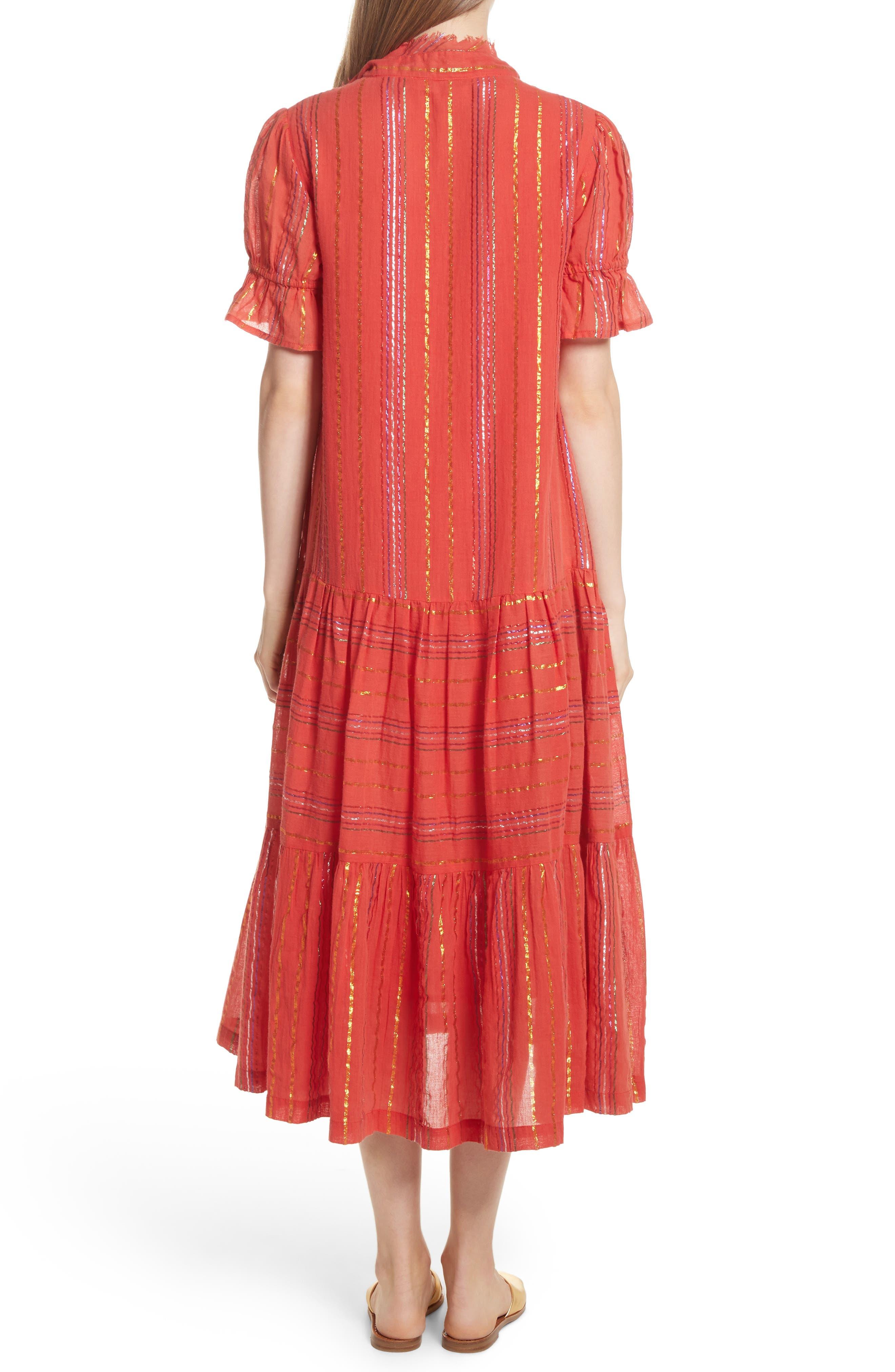 Los Altos Midi Dress,                             Alternate thumbnail 2, color,