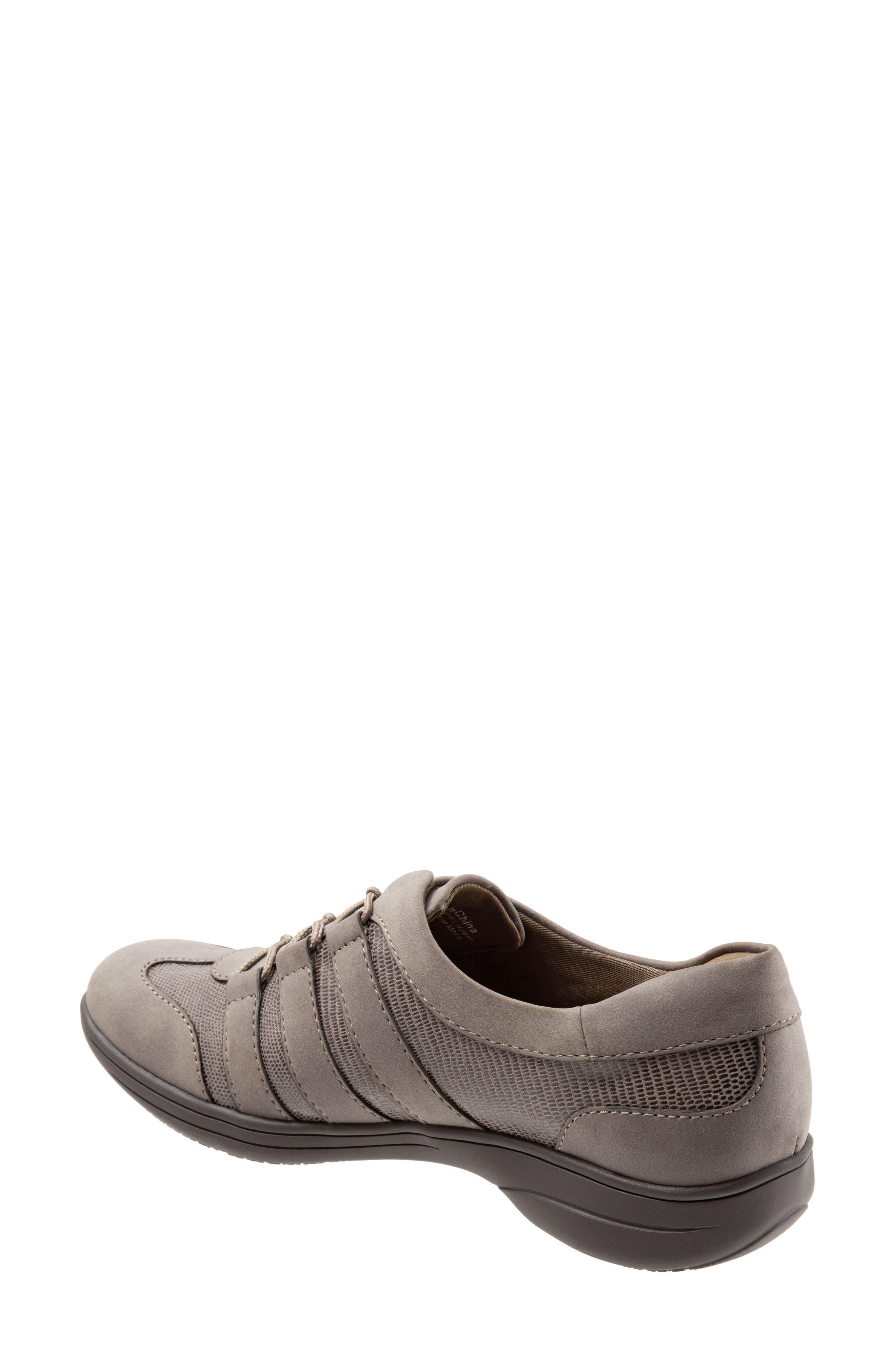 Joy Slip-On Sneaker,                             Alternate thumbnail 2, color,                             TAUPE LEATHER