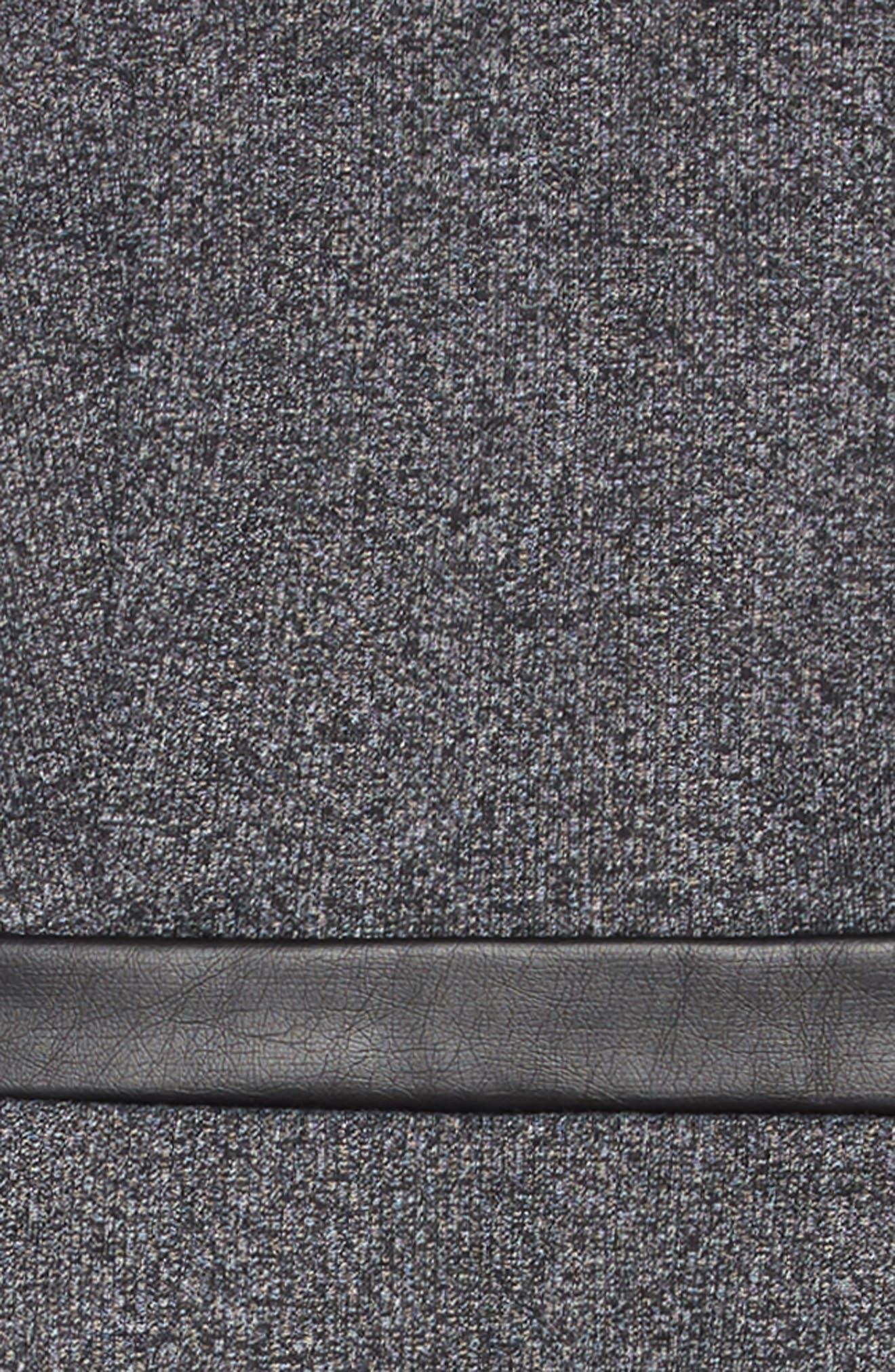 Carol Knit Dress,                             Alternate thumbnail 3, color,                             001