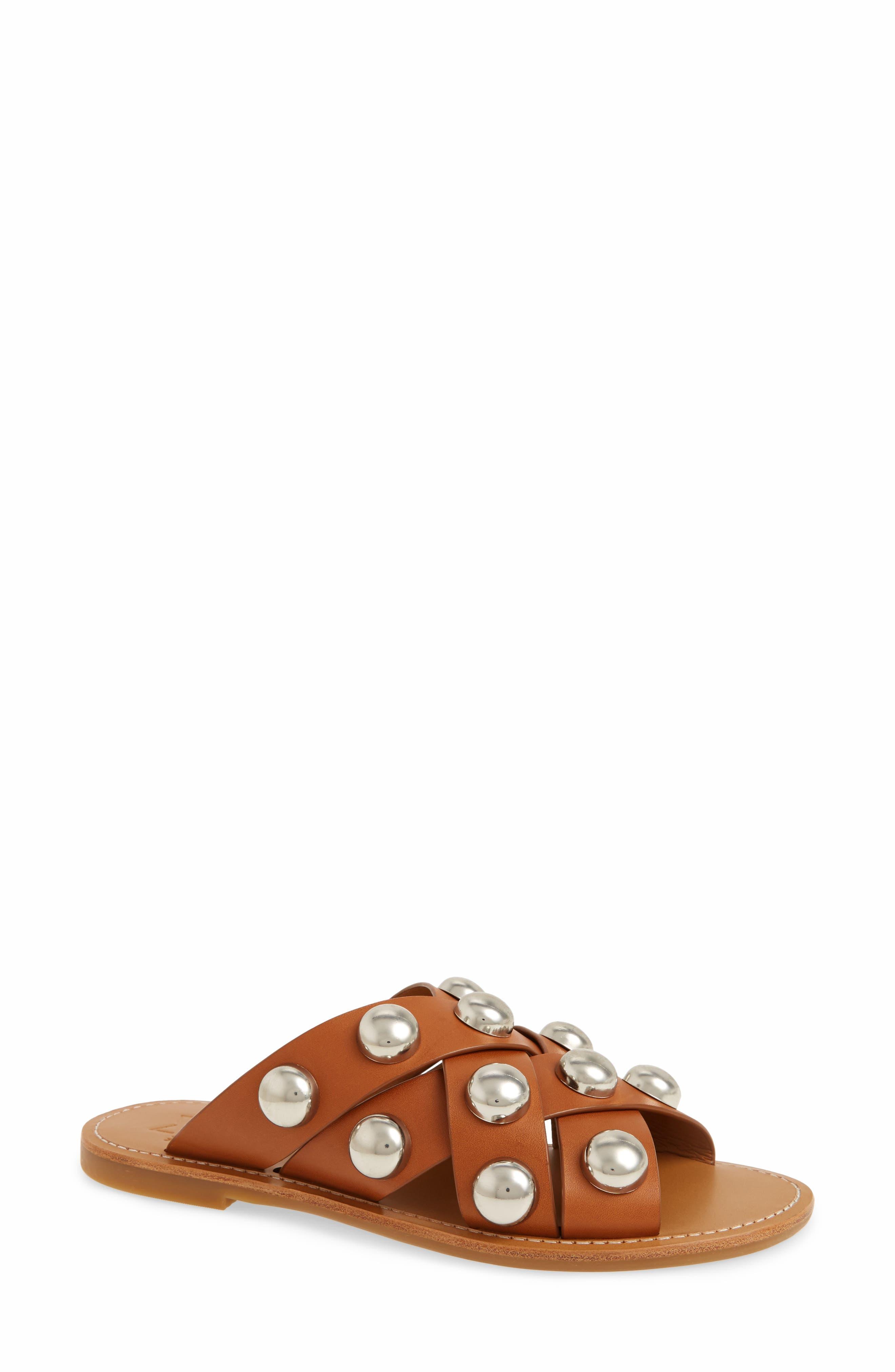 Raidan Studded Sandal,                             Main thumbnail 4, color,