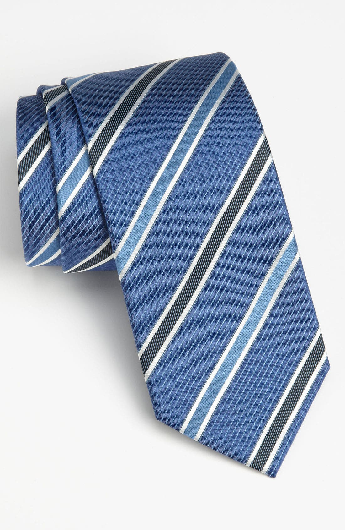 HUGO BOSS Woven Silk Tie,                             Main thumbnail 2, color,