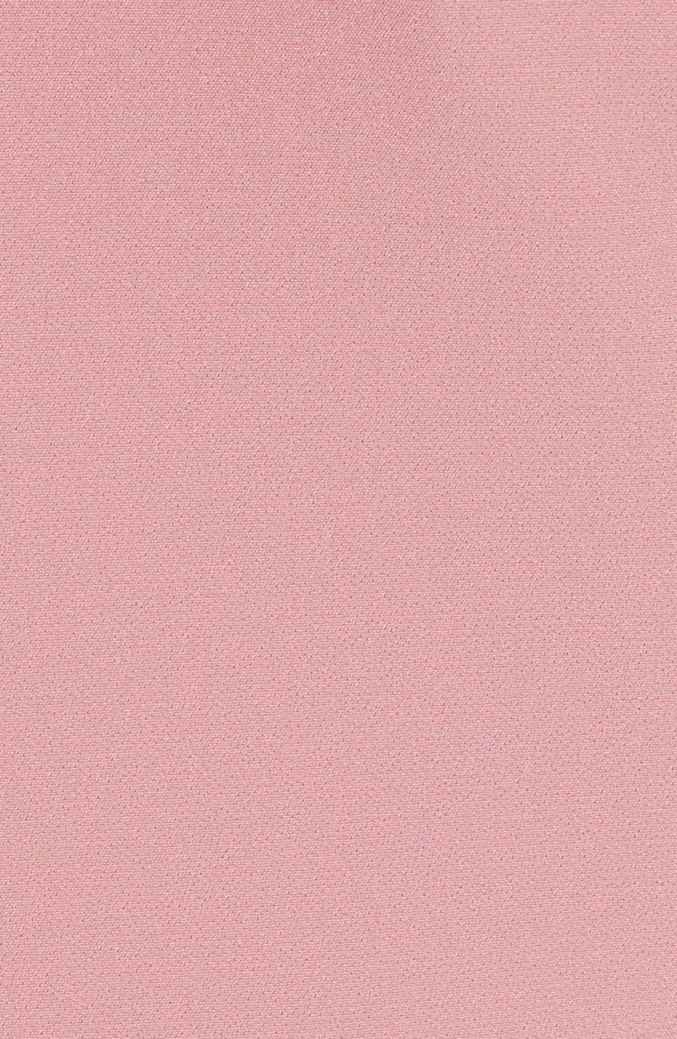 Maggidd Ruffle Waist Pencil Dress,                             Alternate thumbnail 5, color,                             953