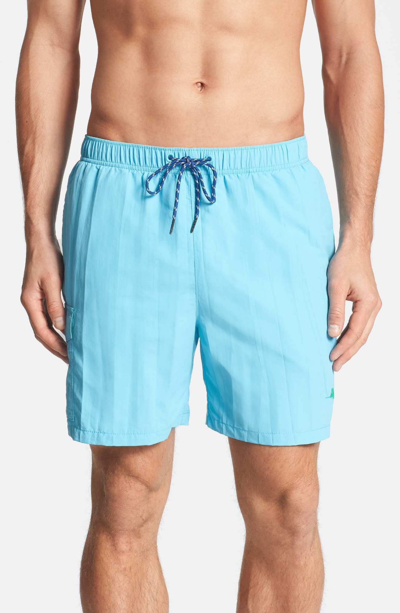 Naples Happy Go Cargo Swim Trunks,                             Alternate thumbnail 10, color,                             400