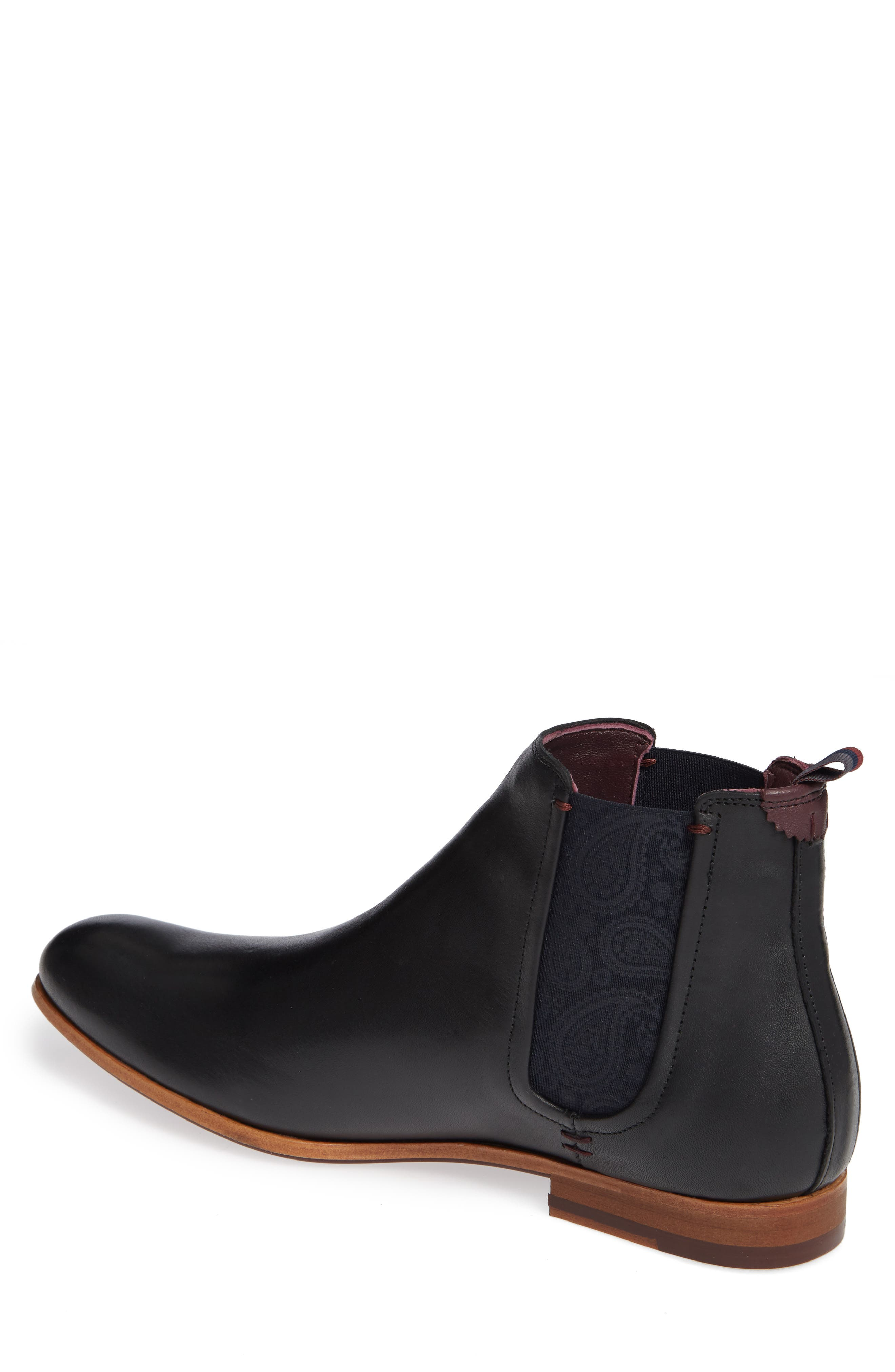 Whron Chelsea Boot,                             Alternate thumbnail 2, color,                             BLACK