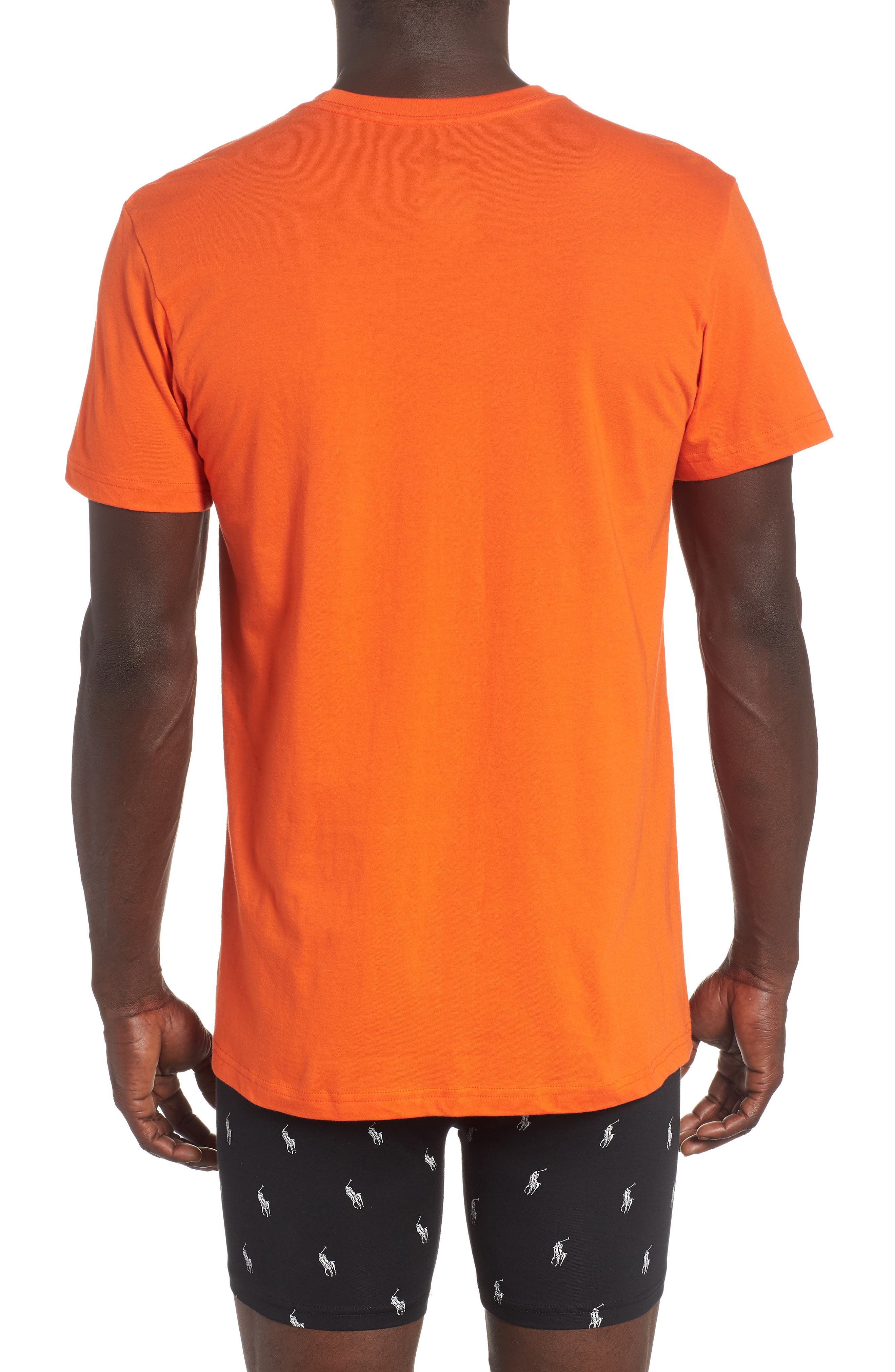 3-Pack Classic Fit T-Shirts,                             Alternate thumbnail 3, color,                             ORANGE/ GREEN/ ROYAL