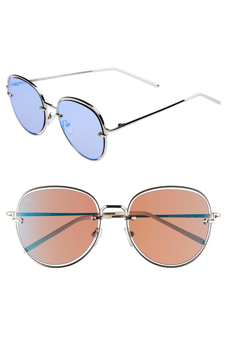 346600a097 Privé Revaux The Escobar 55mm Aviator Sunglasses