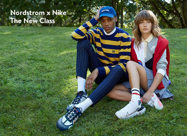 The new class: back-to-school clothing shoes and accessories from Nordstrom x Nike.