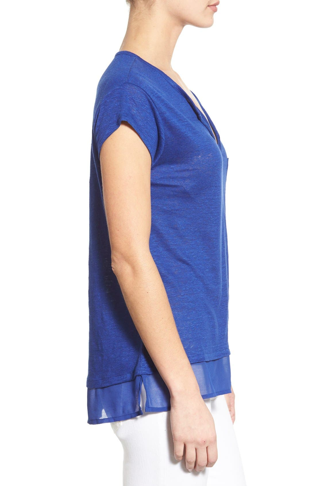 City Mix Layered Look Tee,                             Alternate thumbnail 36, color,