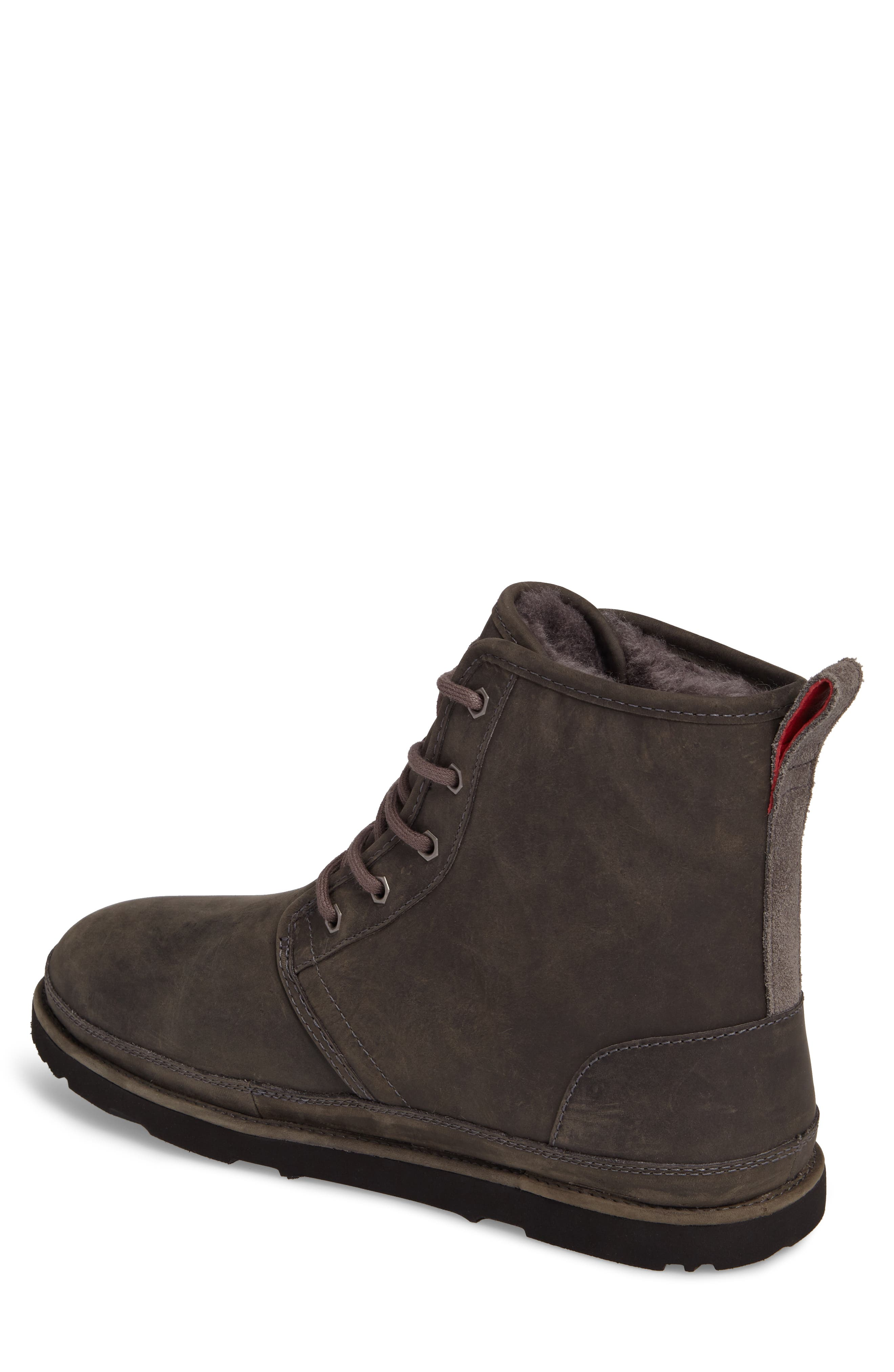 Harkley Plain Toe Boot,                             Alternate thumbnail 2, color,                             CHARCOAL