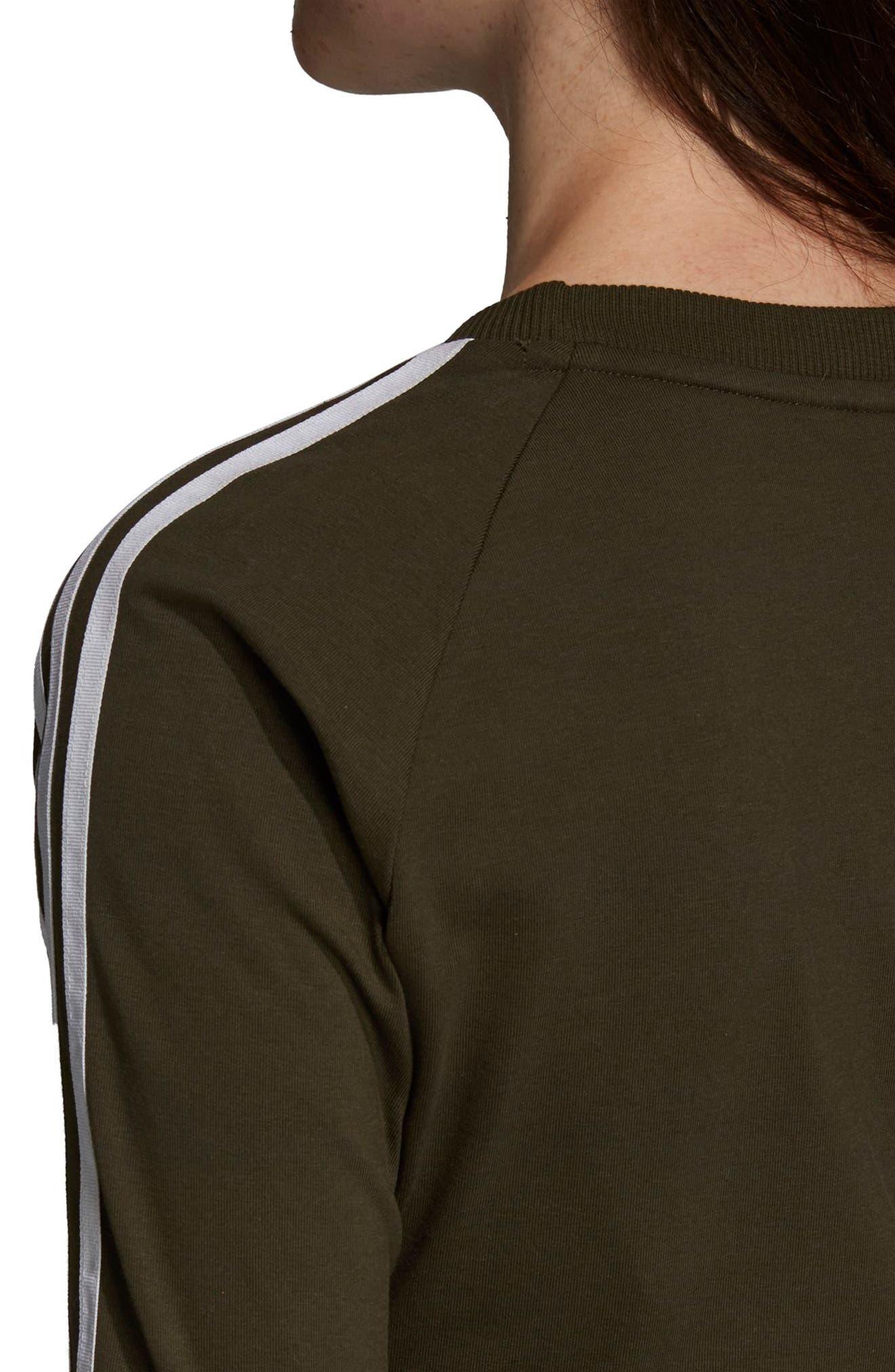 adidas 3-Stripes Dress,                             Alternate thumbnail 7, color,                             NIGHT CARGO