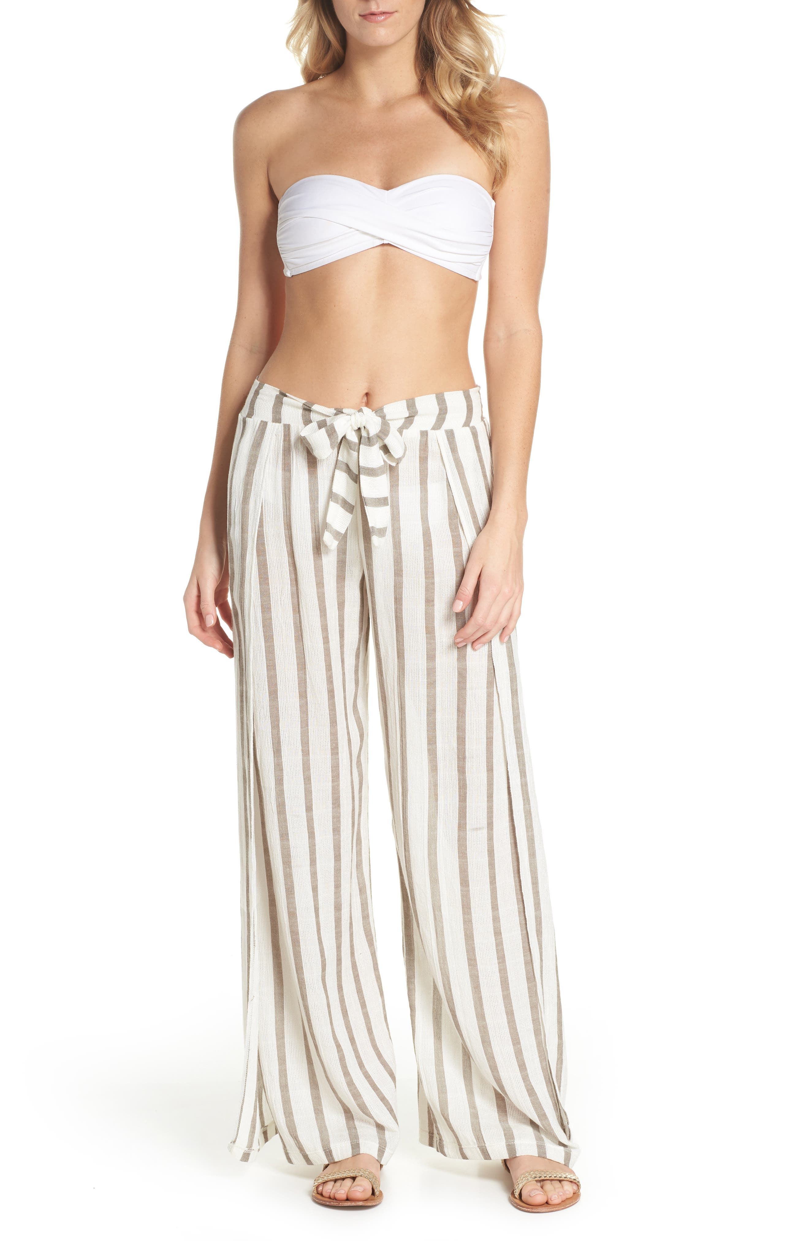 Becca Serengeti Cover-Up Pants, White