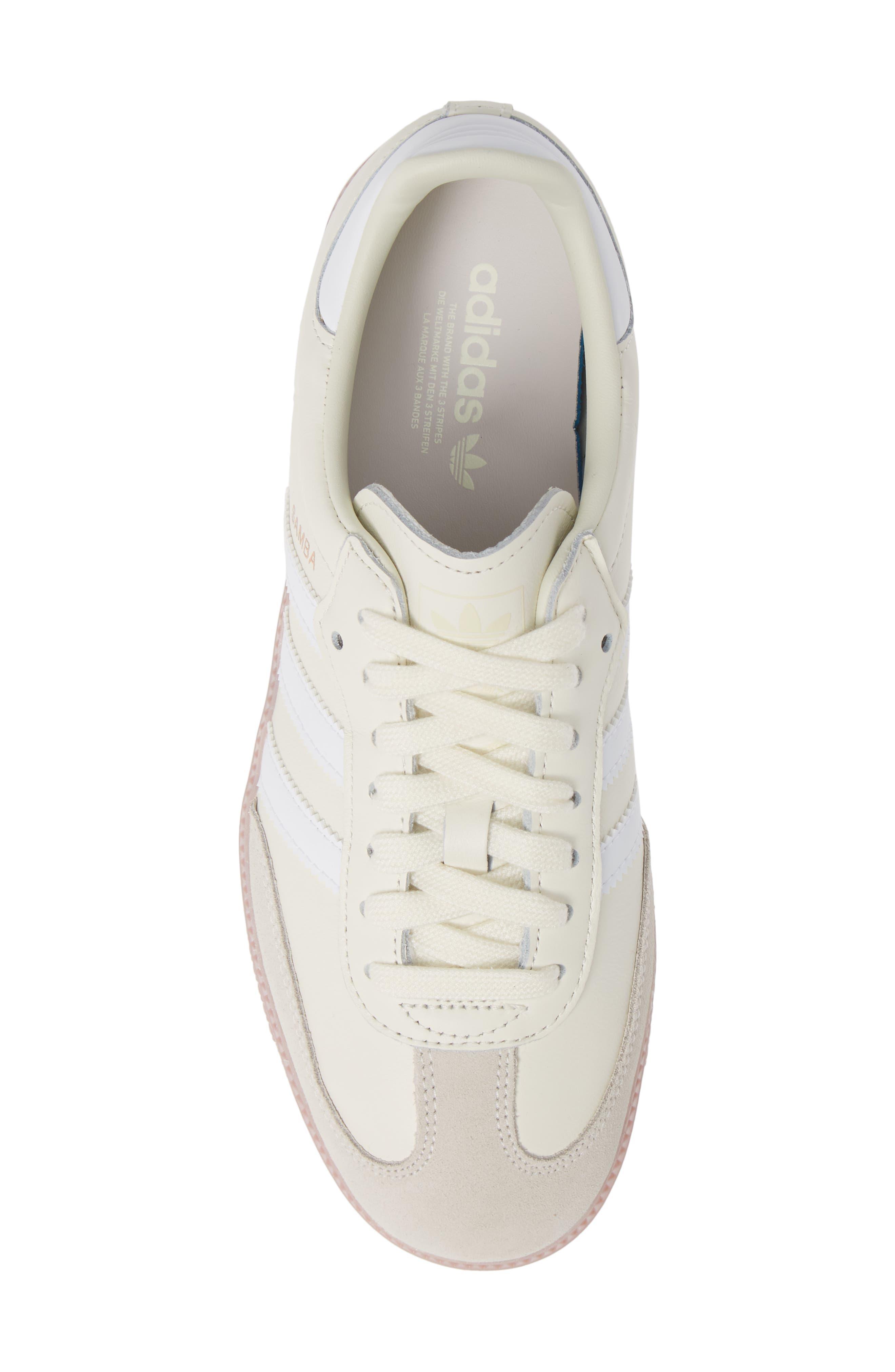 Samba Sneaker,                             Alternate thumbnail 5, color,                             OFF WHITE/ WHITE/ SOFT VISION